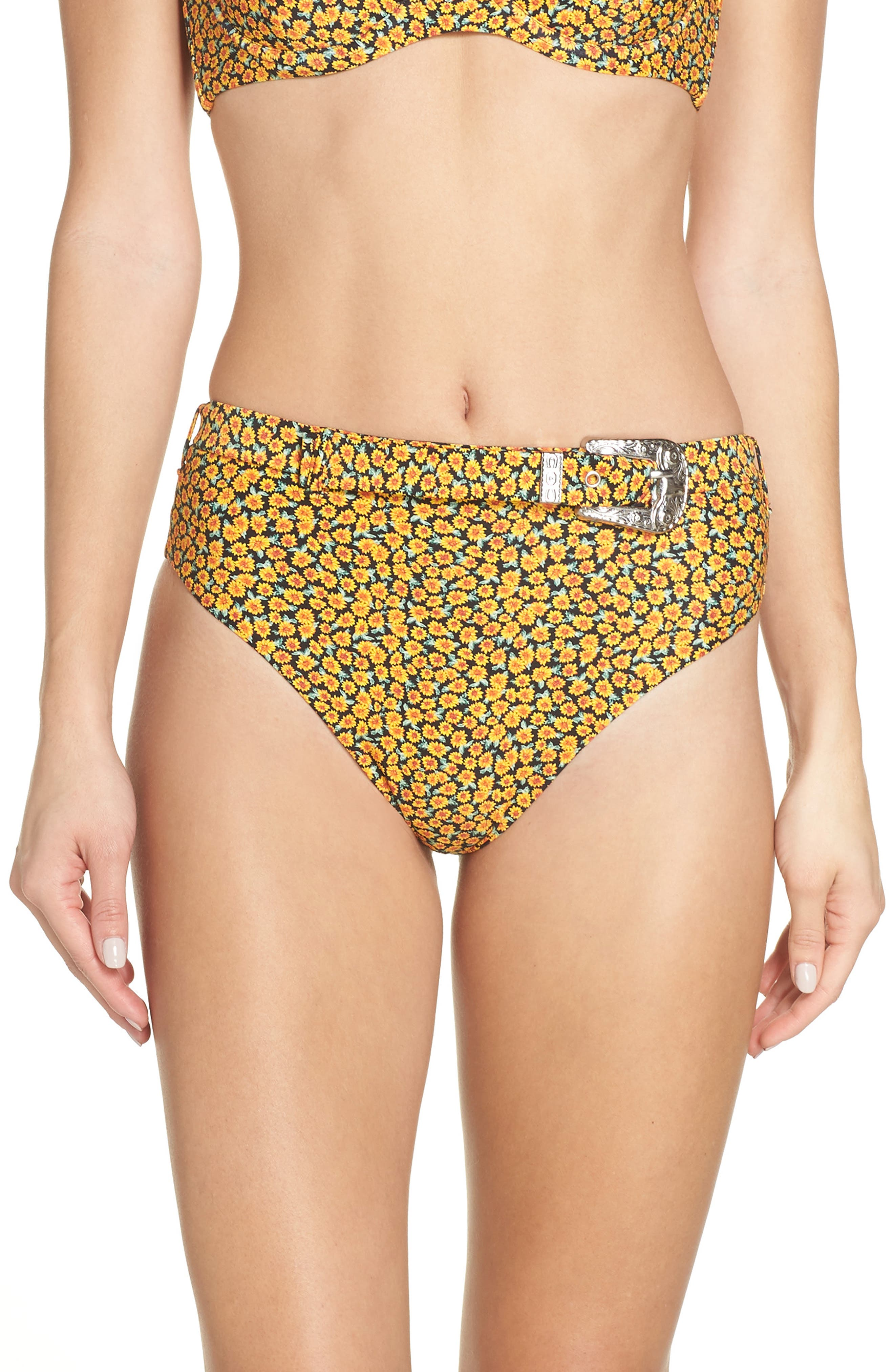 Onia Emily Bikini Bottoms, Yellow