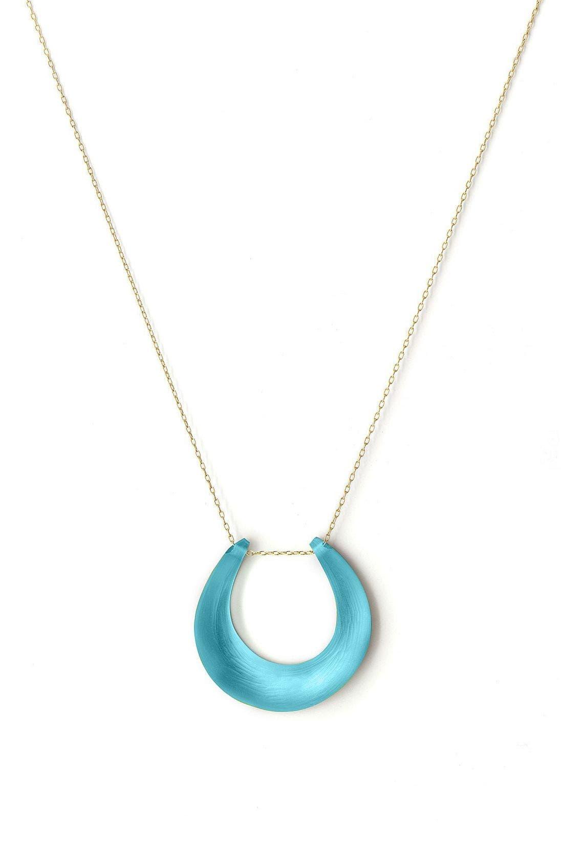 Small Horseshoe Necklace,                             Main thumbnail 13, color,