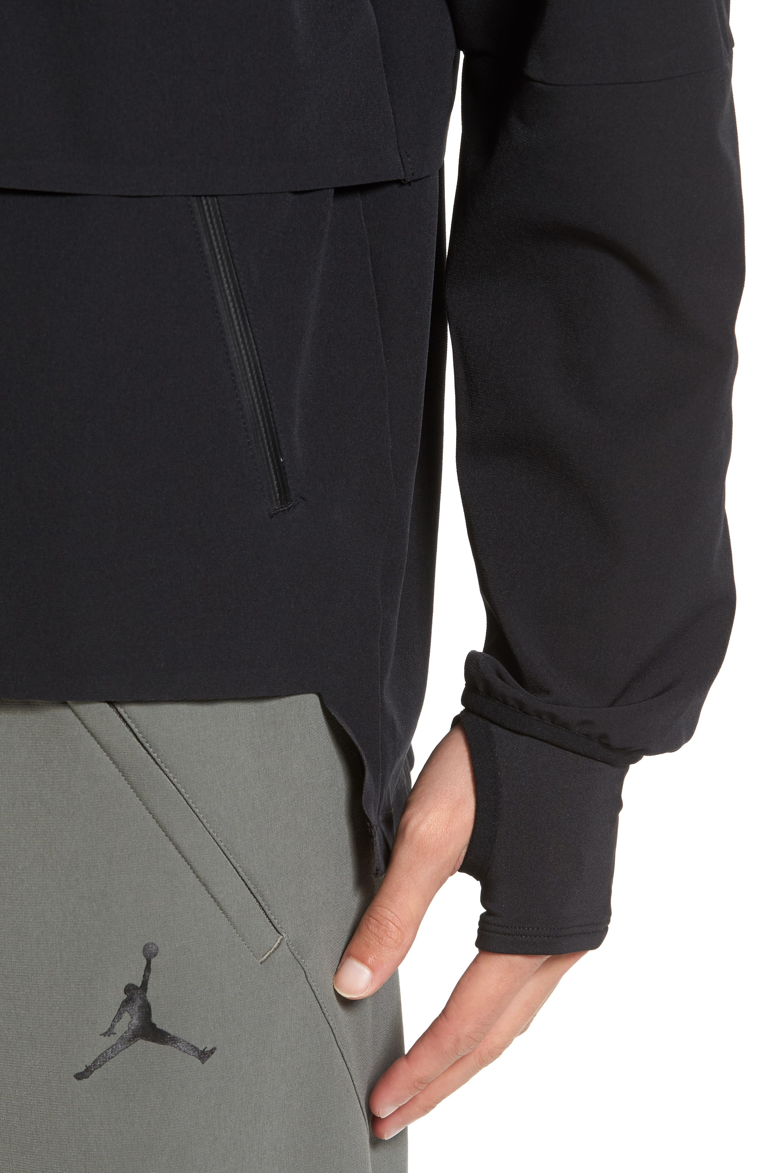 Nike Jordan 23 Tech Shield Jacket,                             Alternate thumbnail 4, color,                             010