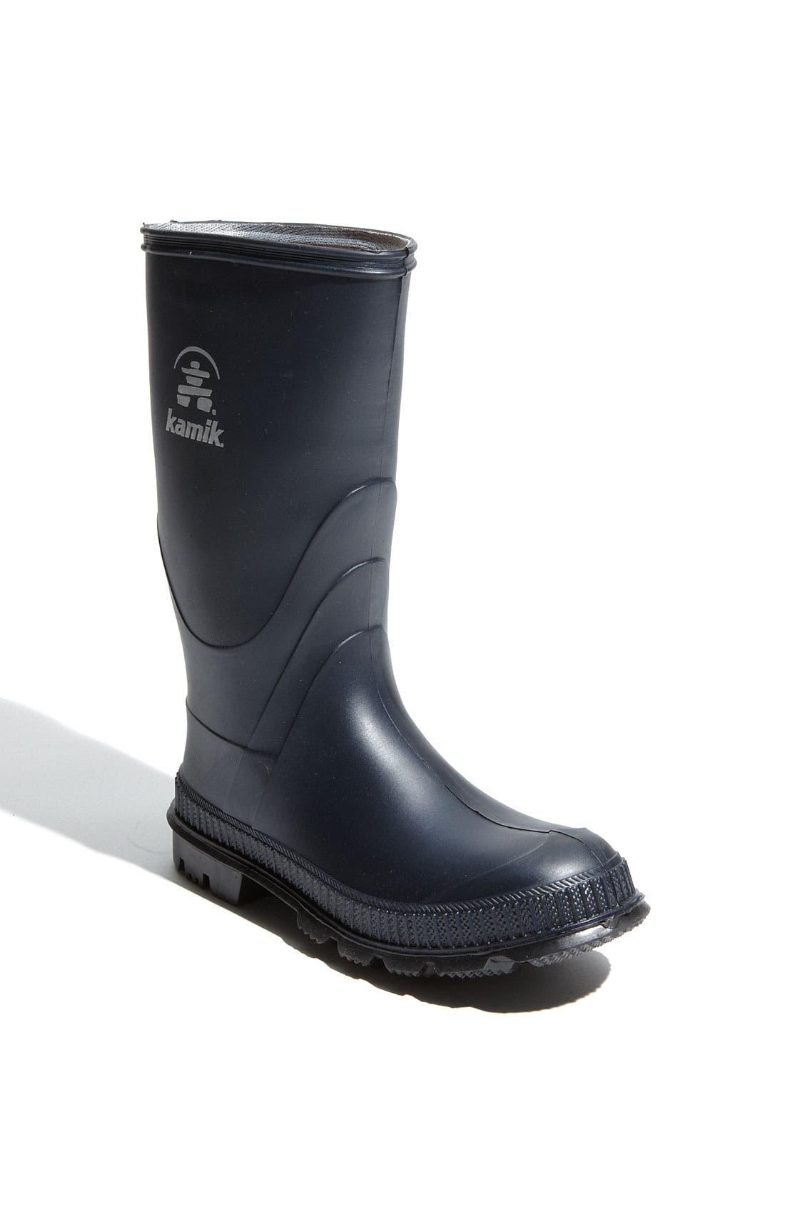 'Stomp' Rain Boot, Main, color, 418