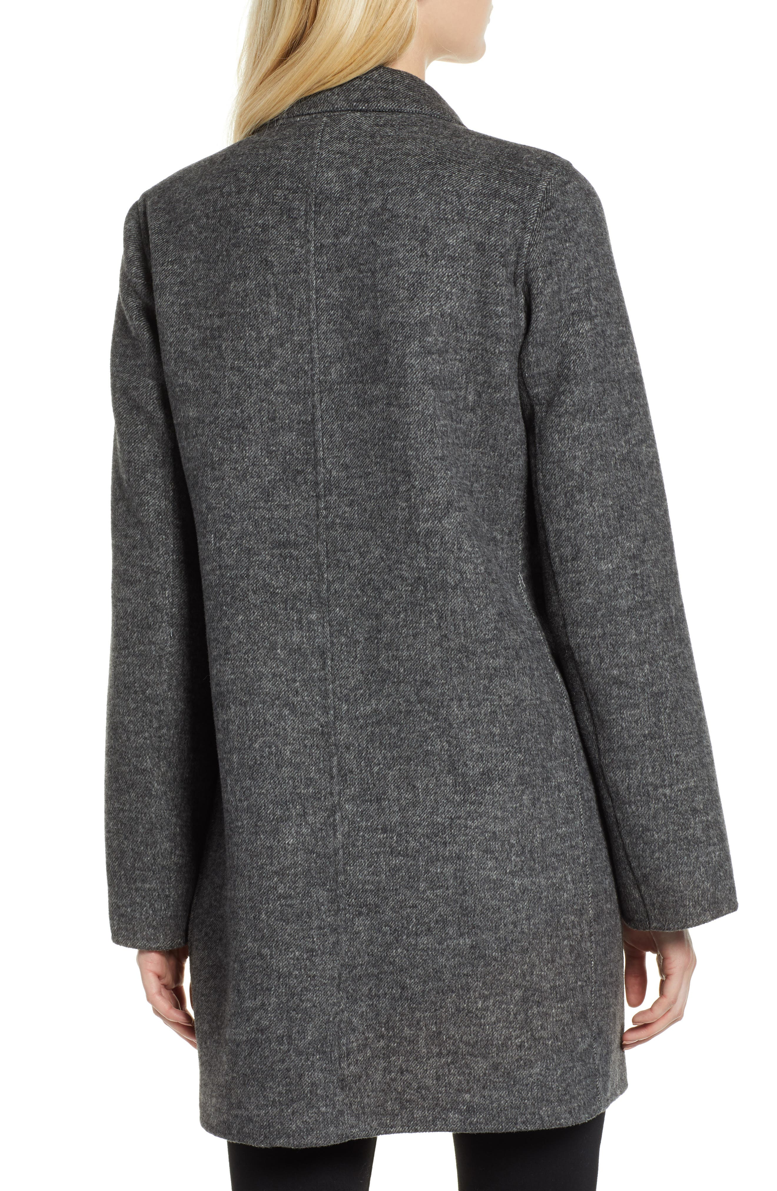 Jayden Bell Sleeve Jacket,                             Alternate thumbnail 2, color,                             GREY TWILL