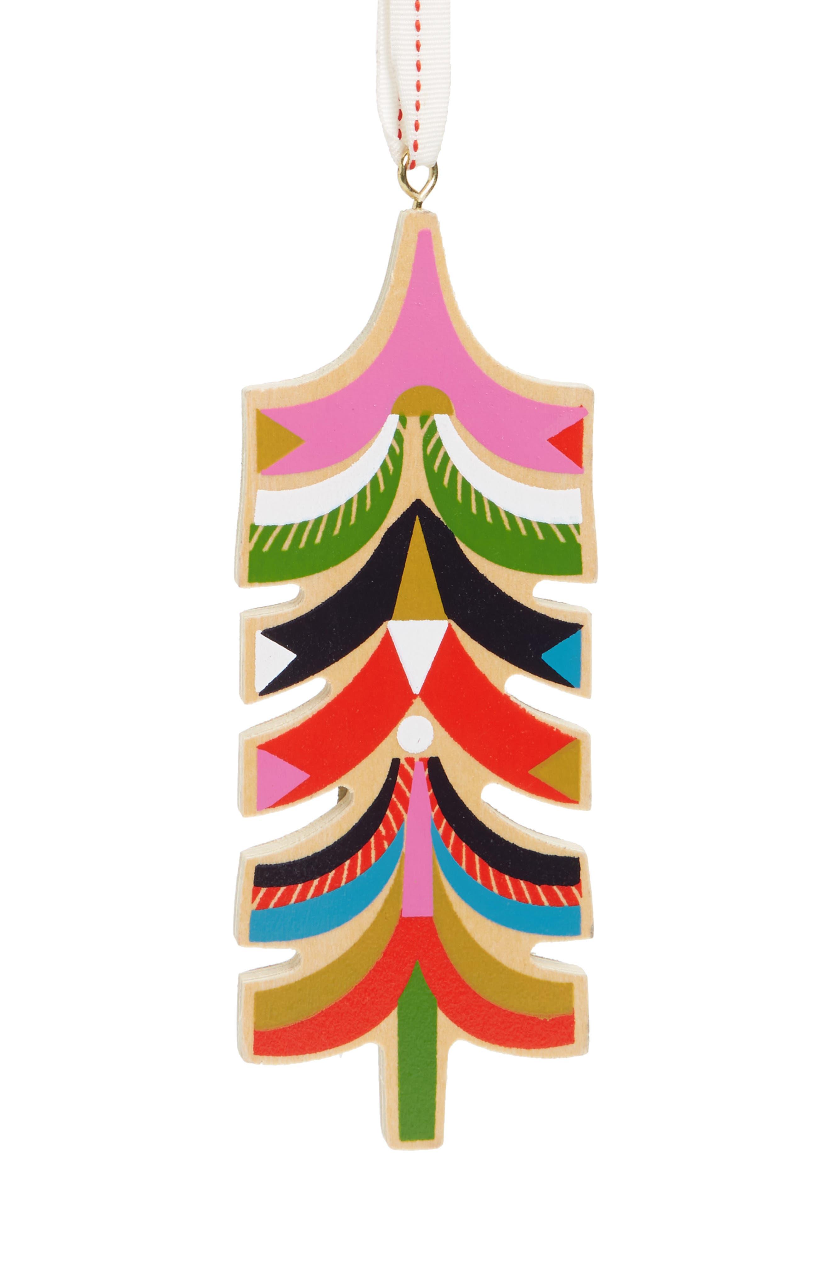 Wooden Tree Ornament,                         Main,                         color, 600