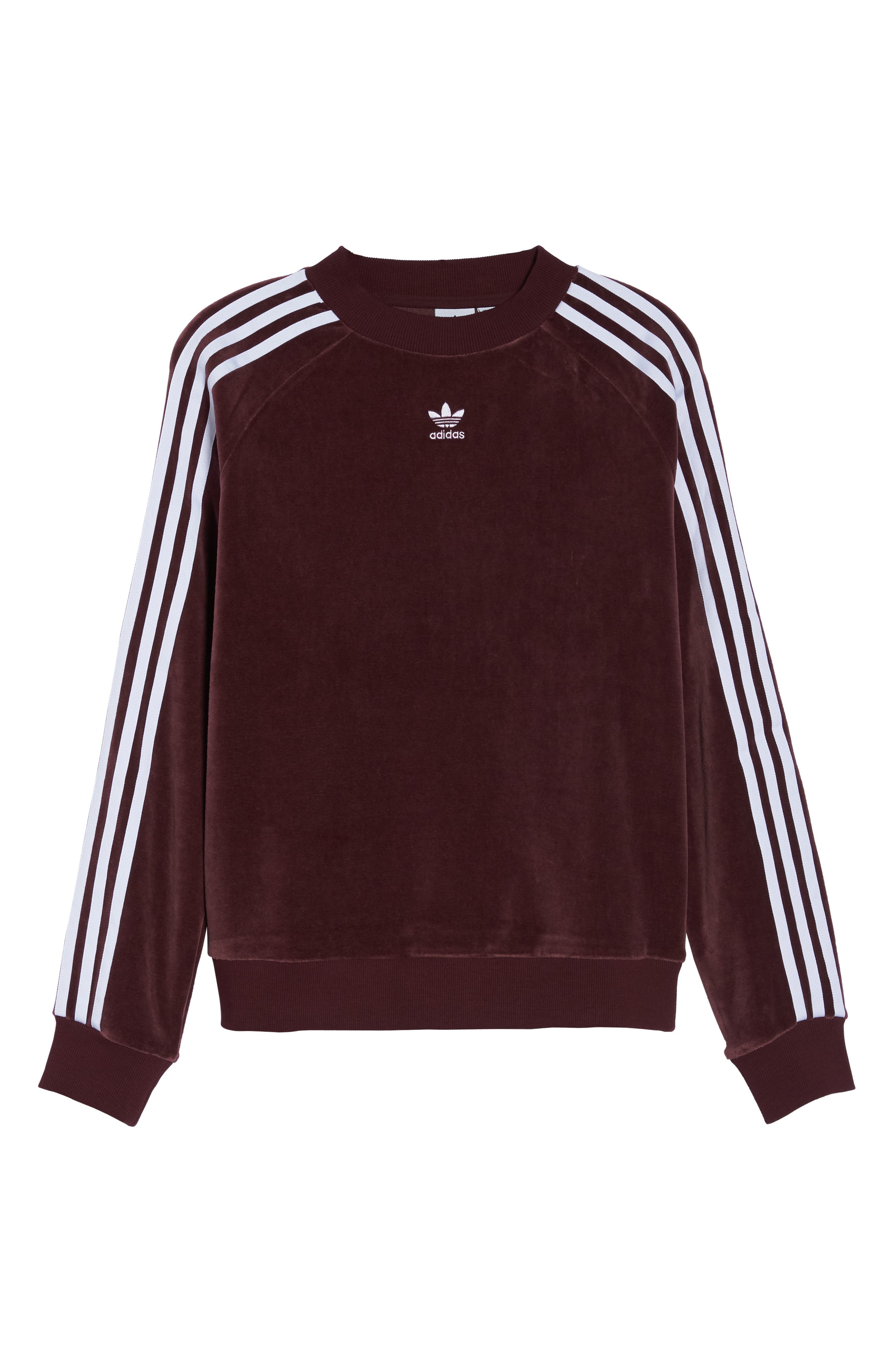 TRF Sweatshirt,                             Alternate thumbnail 7, color,                             MAROON