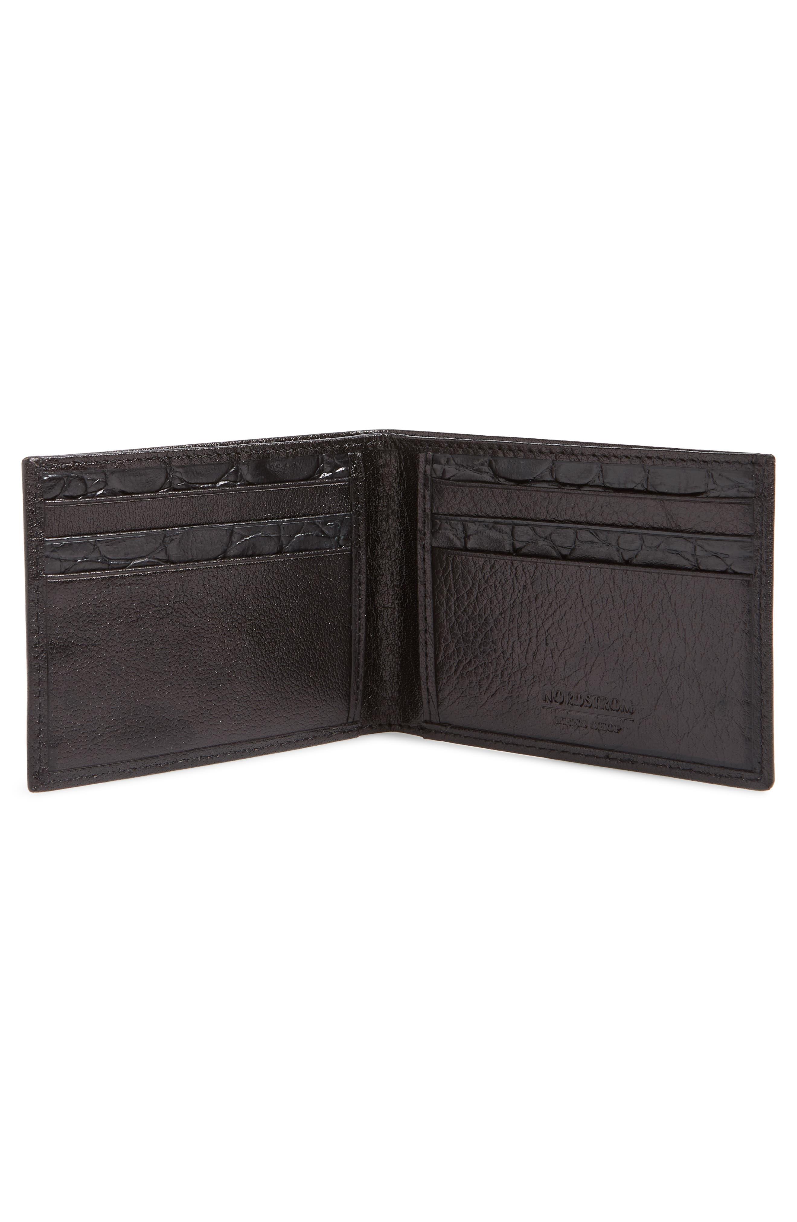 Landon Slim Leather Wallet,                             Alternate thumbnail 2, color,                             001