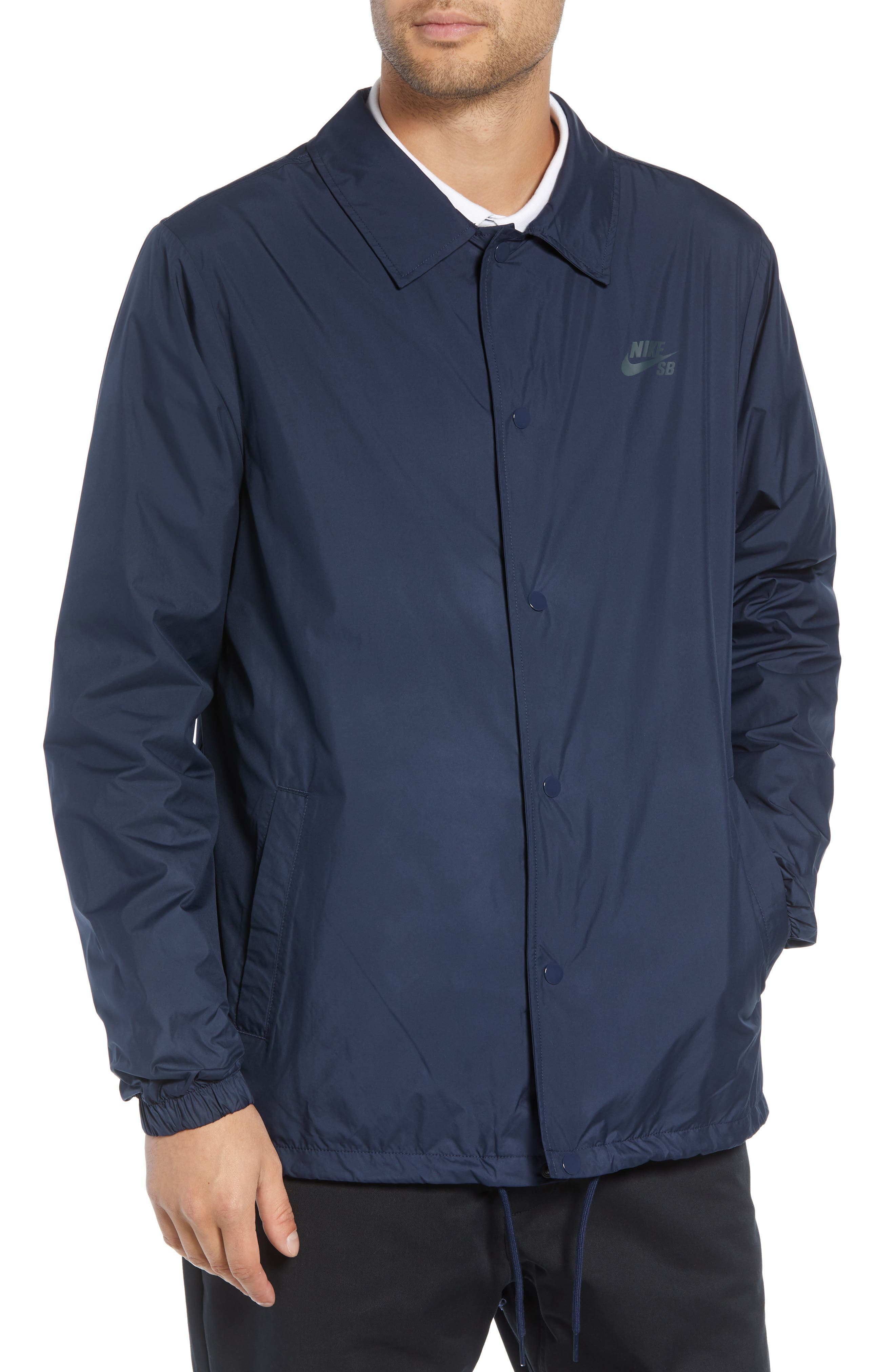 SB Shield Coach's Jacket,                             Alternate thumbnail 4, color,                             OBSIDIAN/ ANTHRACITE