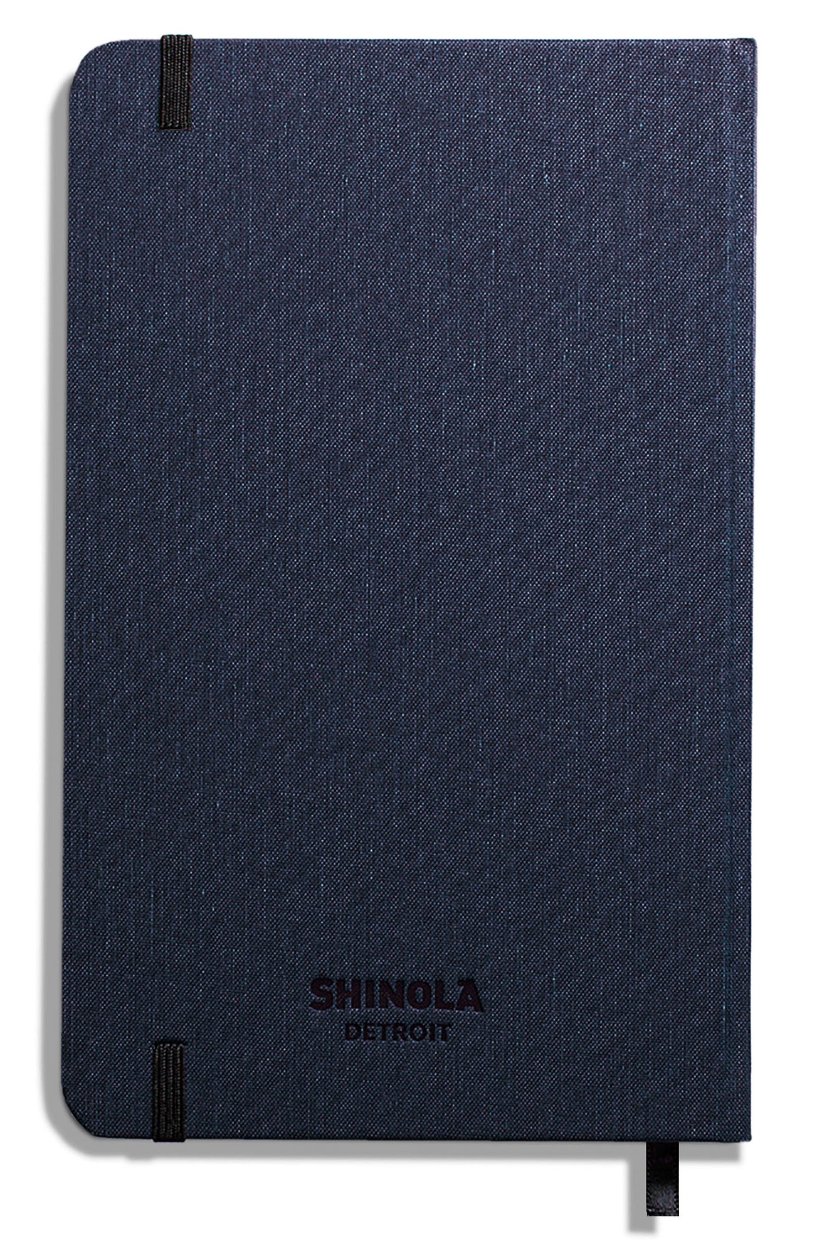 Hardcover Linen Journal,                             Alternate thumbnail 2, color,                             NAVY