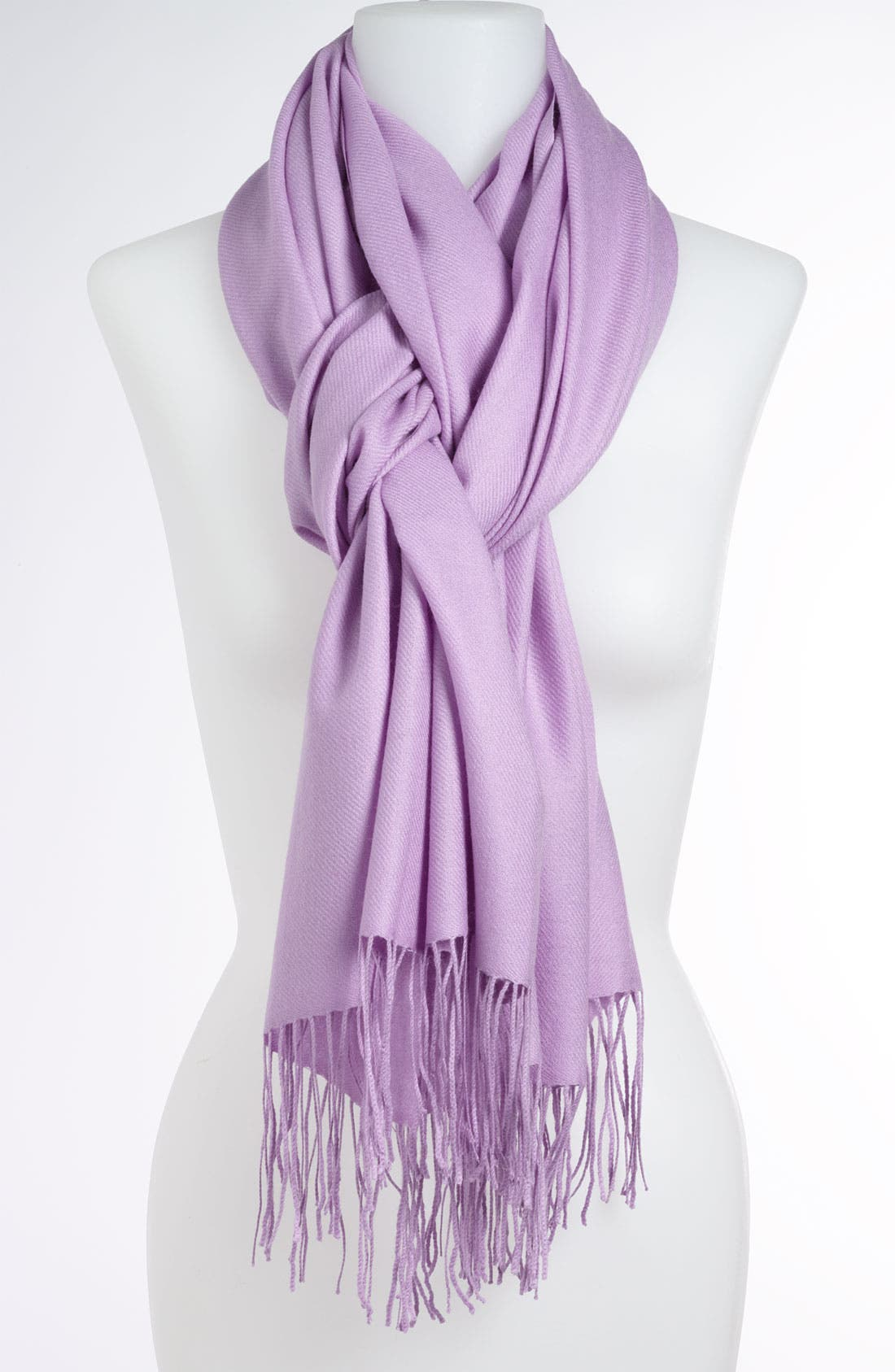 Tissue Weight Wool & Cashmere Wrap,                             Main thumbnail 110, color,