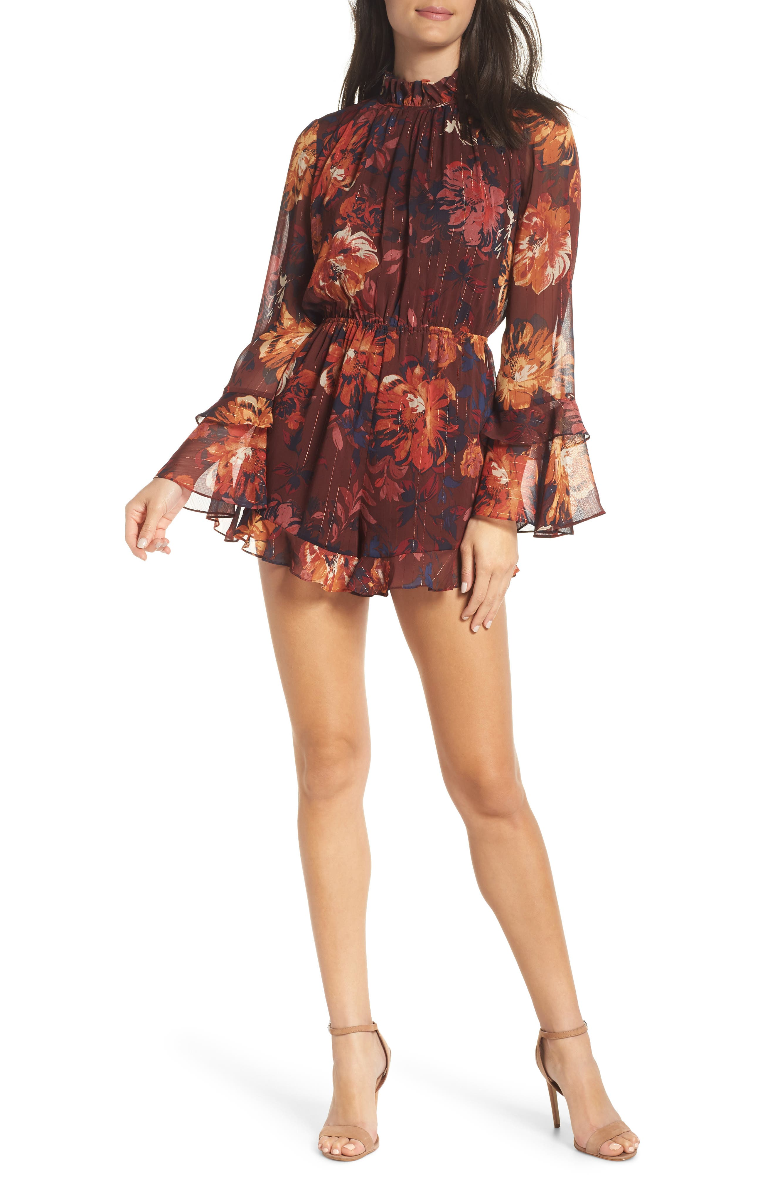 Getting All Your Love Romper, Main, color, 931