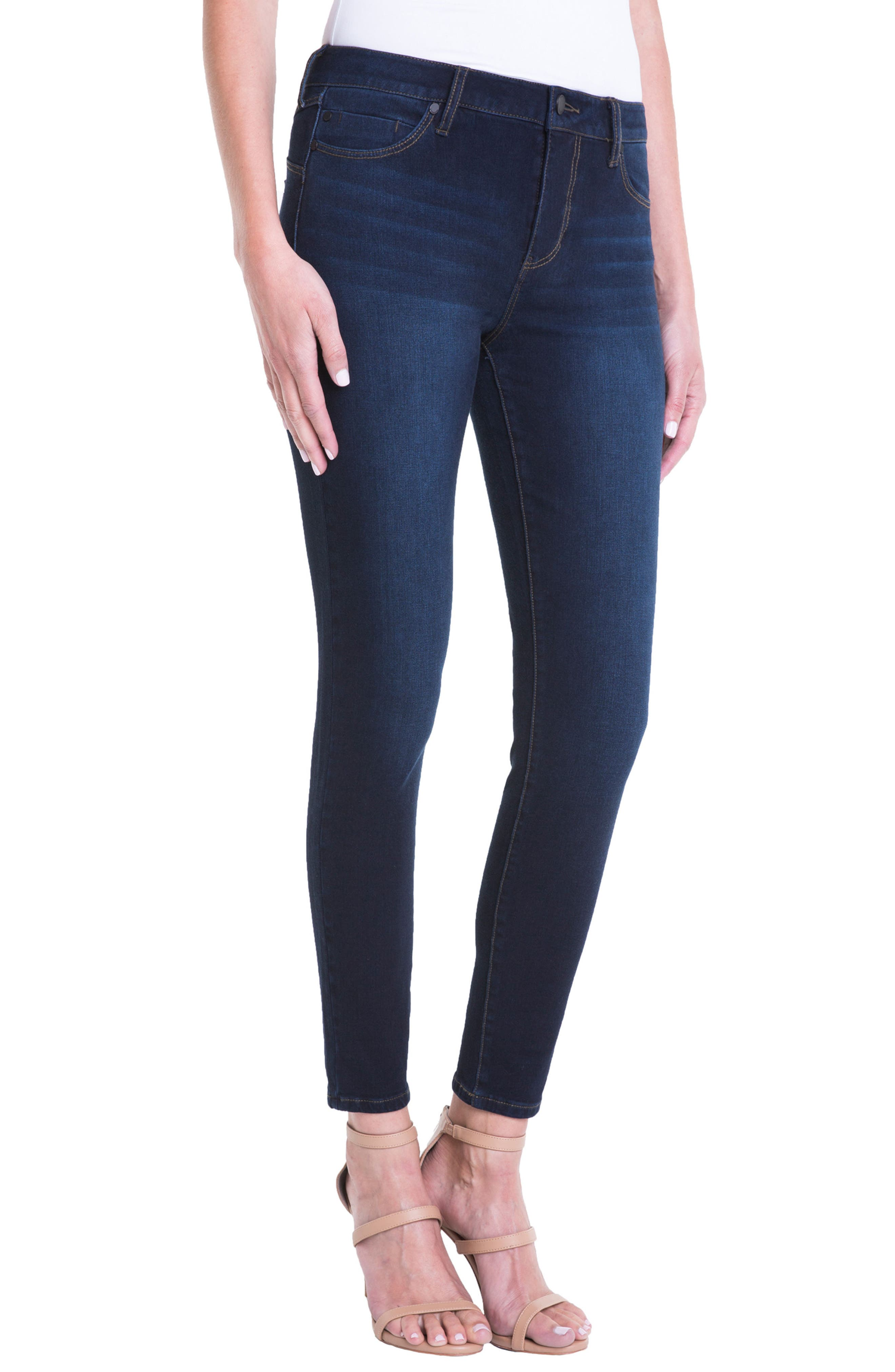 Jeans Company Piper Hugger Lift Sculpt Ankle Skinny Jeans,                             Alternate thumbnail 10, color,