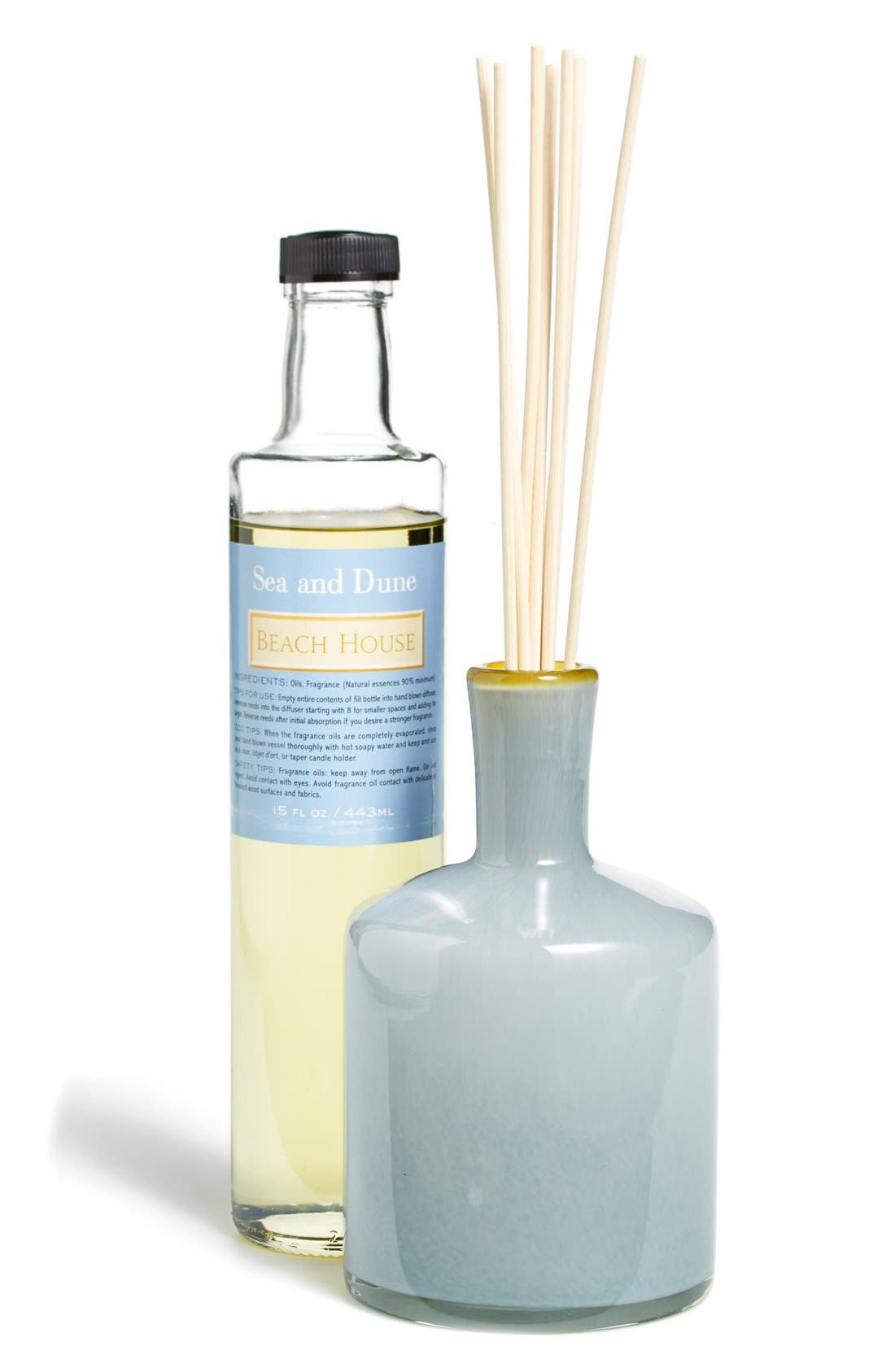 'Sea & Dune - Beach House' Fragrance Diffuser,                             Main thumbnail 1, color,                             NO COLOR
