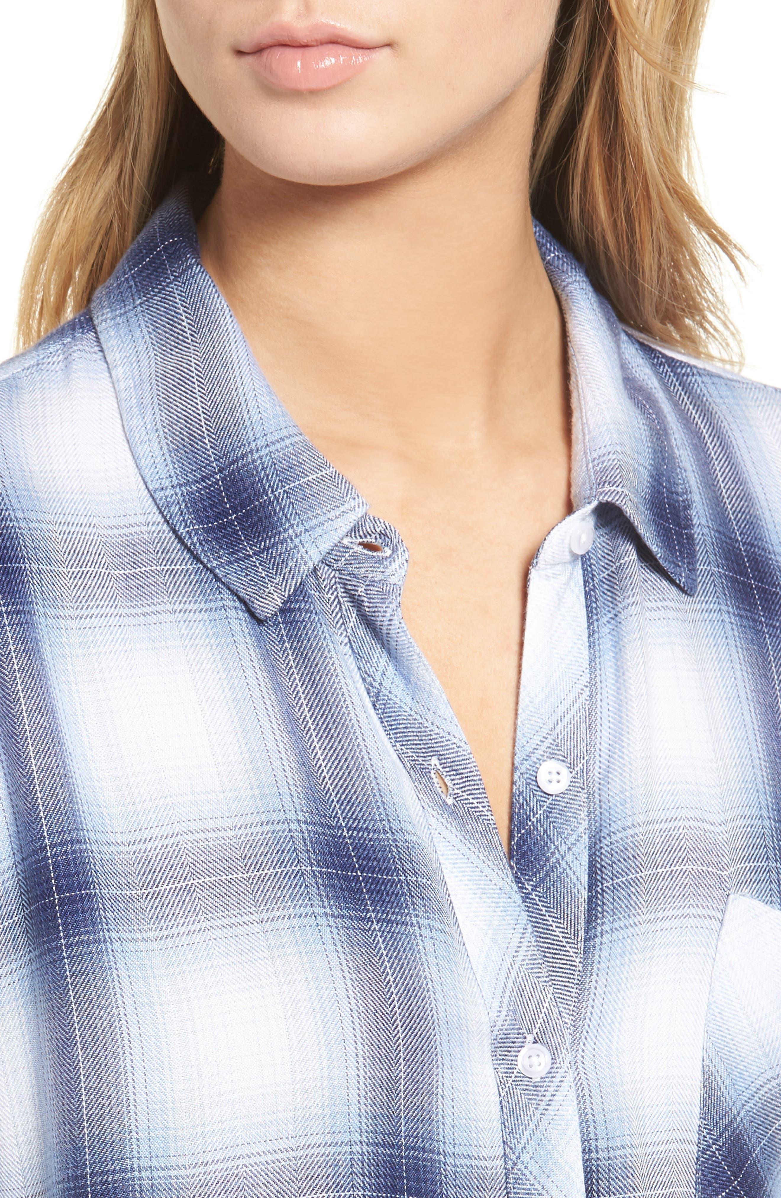 Hunter Plaid Shirt,                             Alternate thumbnail 533, color,