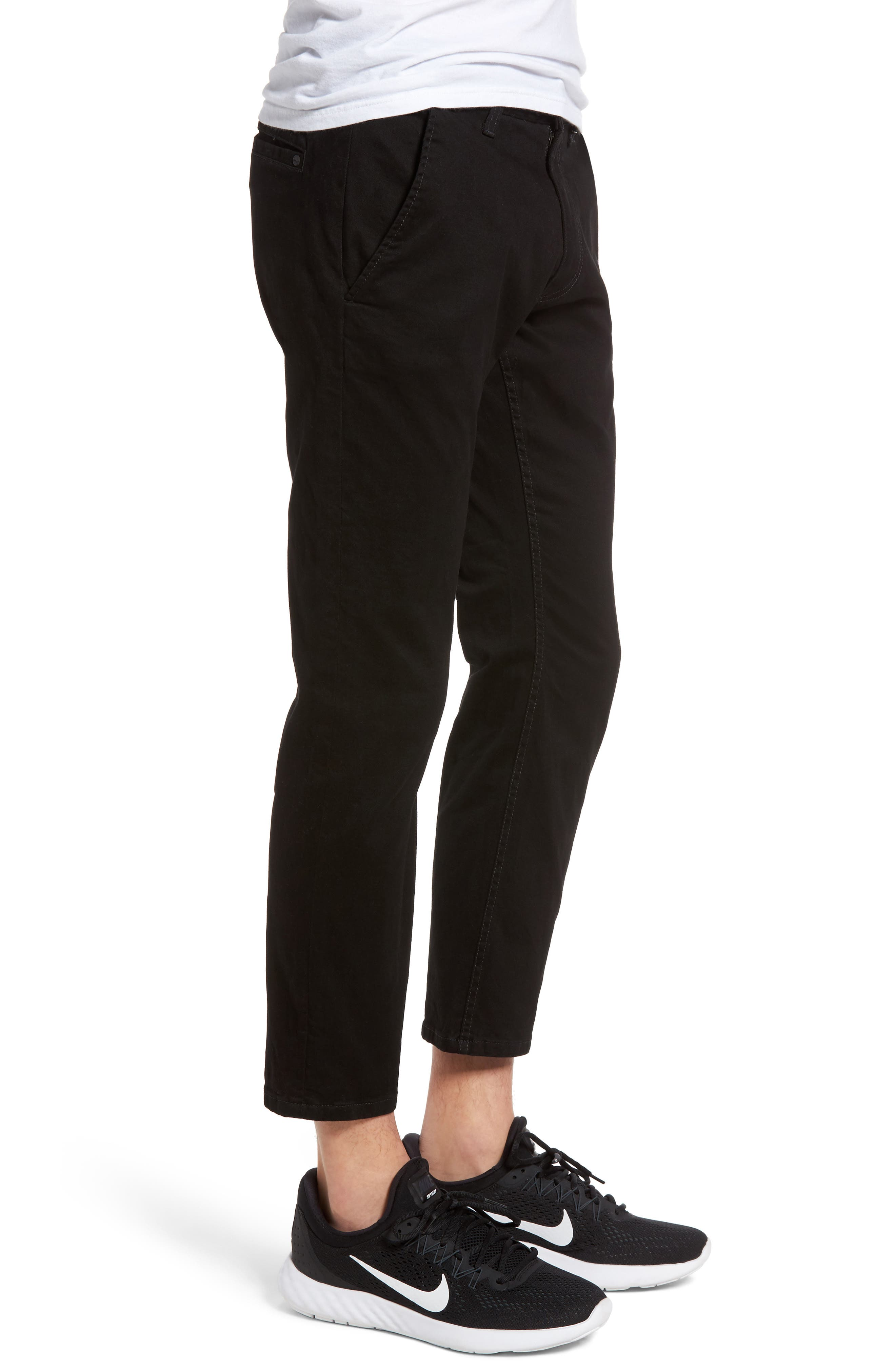 Federal Cropped Chinos,                             Alternate thumbnail 3, color,                             001