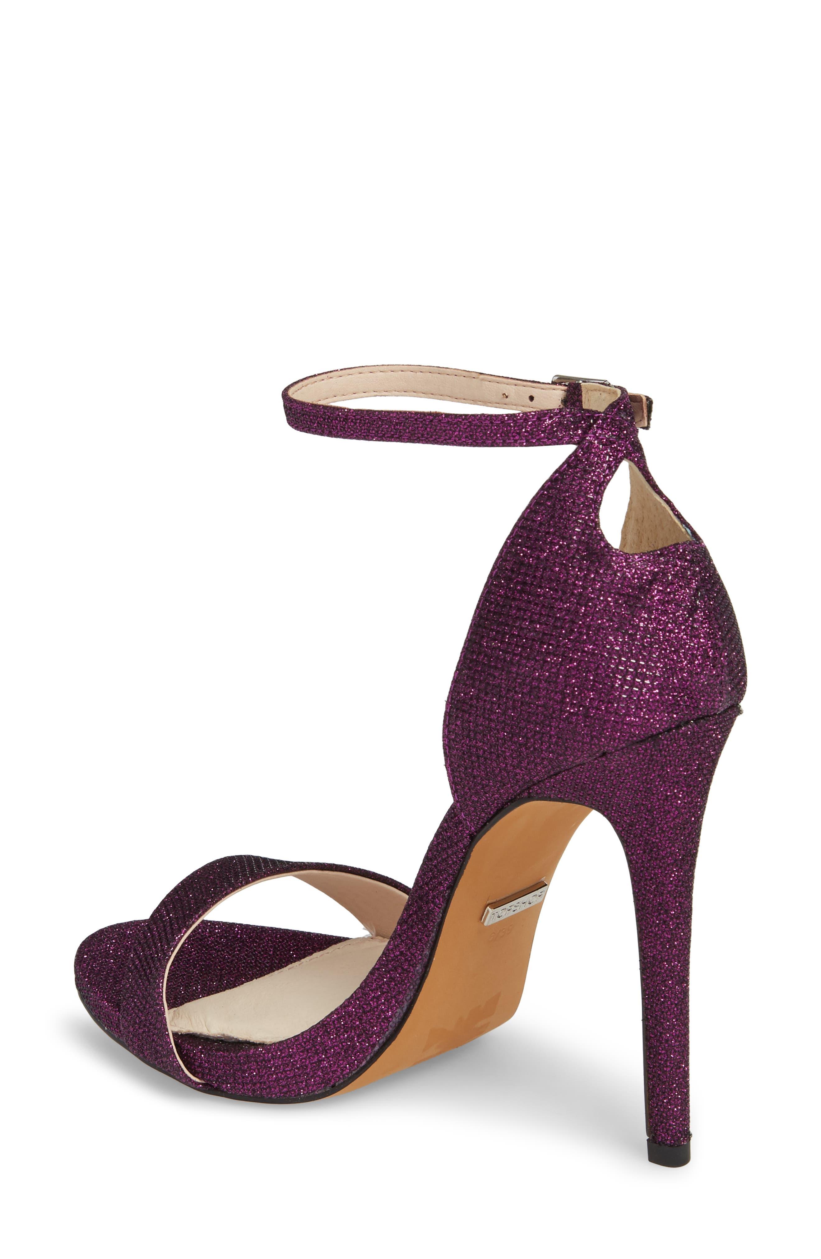 Raphie Ankle Strap Sandal,                             Alternate thumbnail 2, color,                             PURPLE
