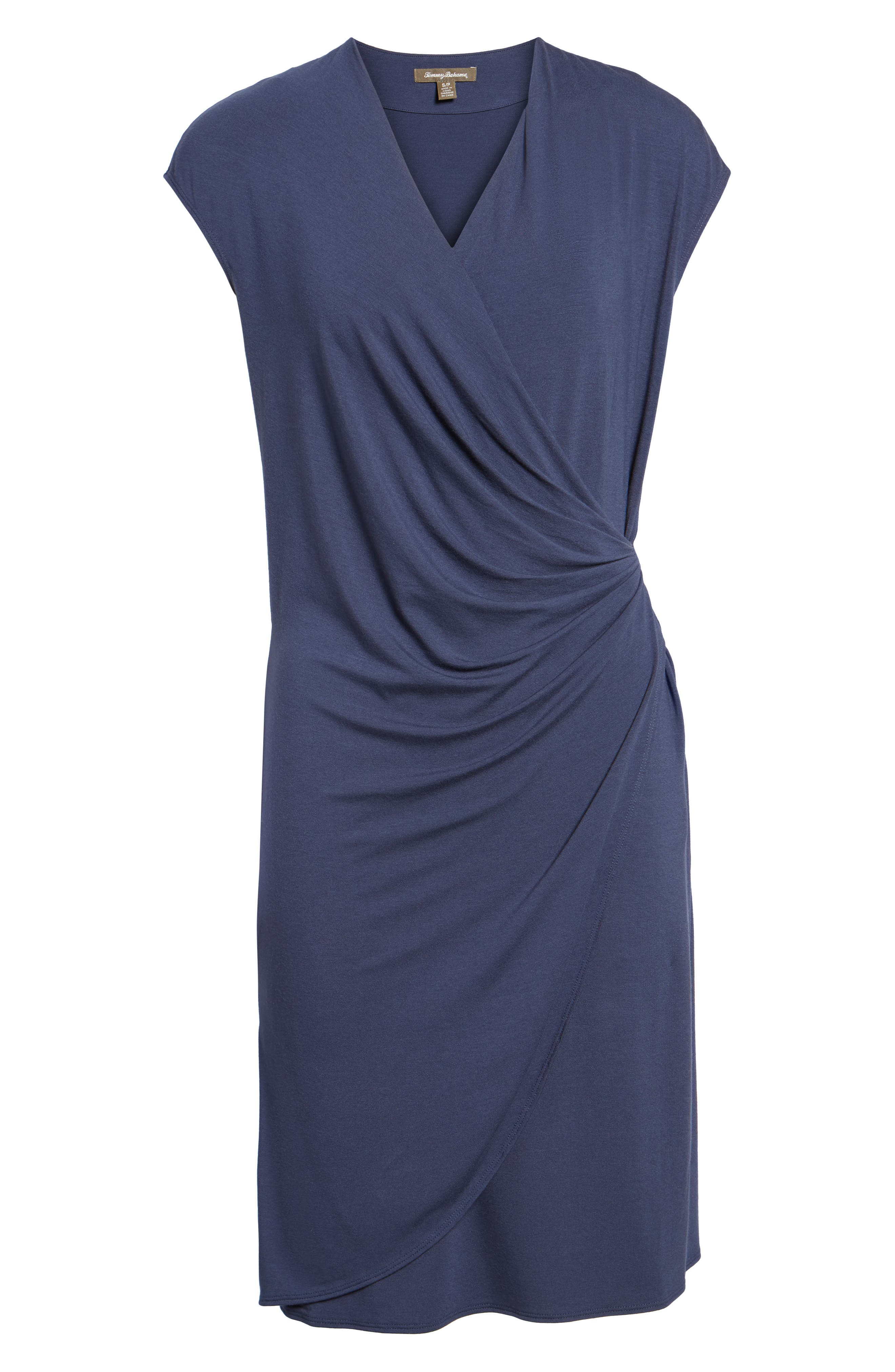 'Tambour' Side Gathered Dress,                             Alternate thumbnail 33, color,