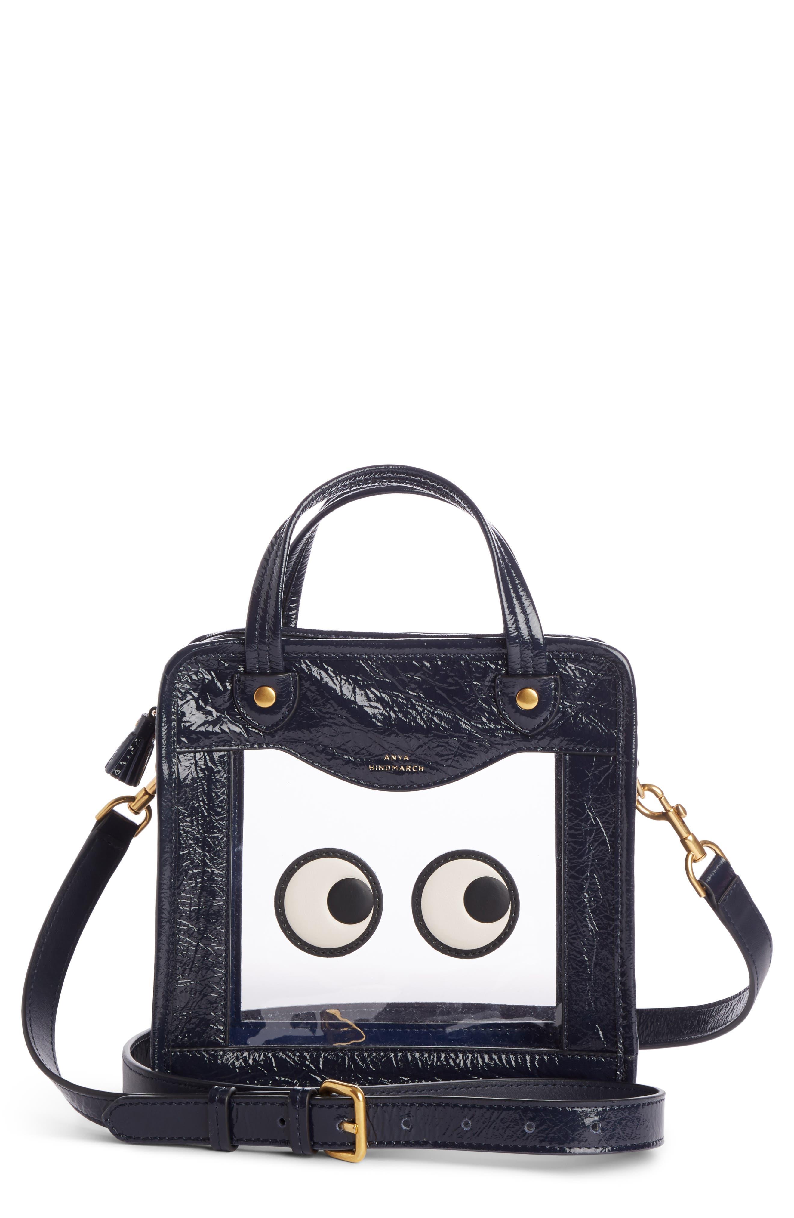 Rainy Day Eyes Crossbody Bag,                         Main,                         color, 400
