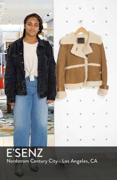 Farley Genuine Shearling Jacket, sales video thumbnail
