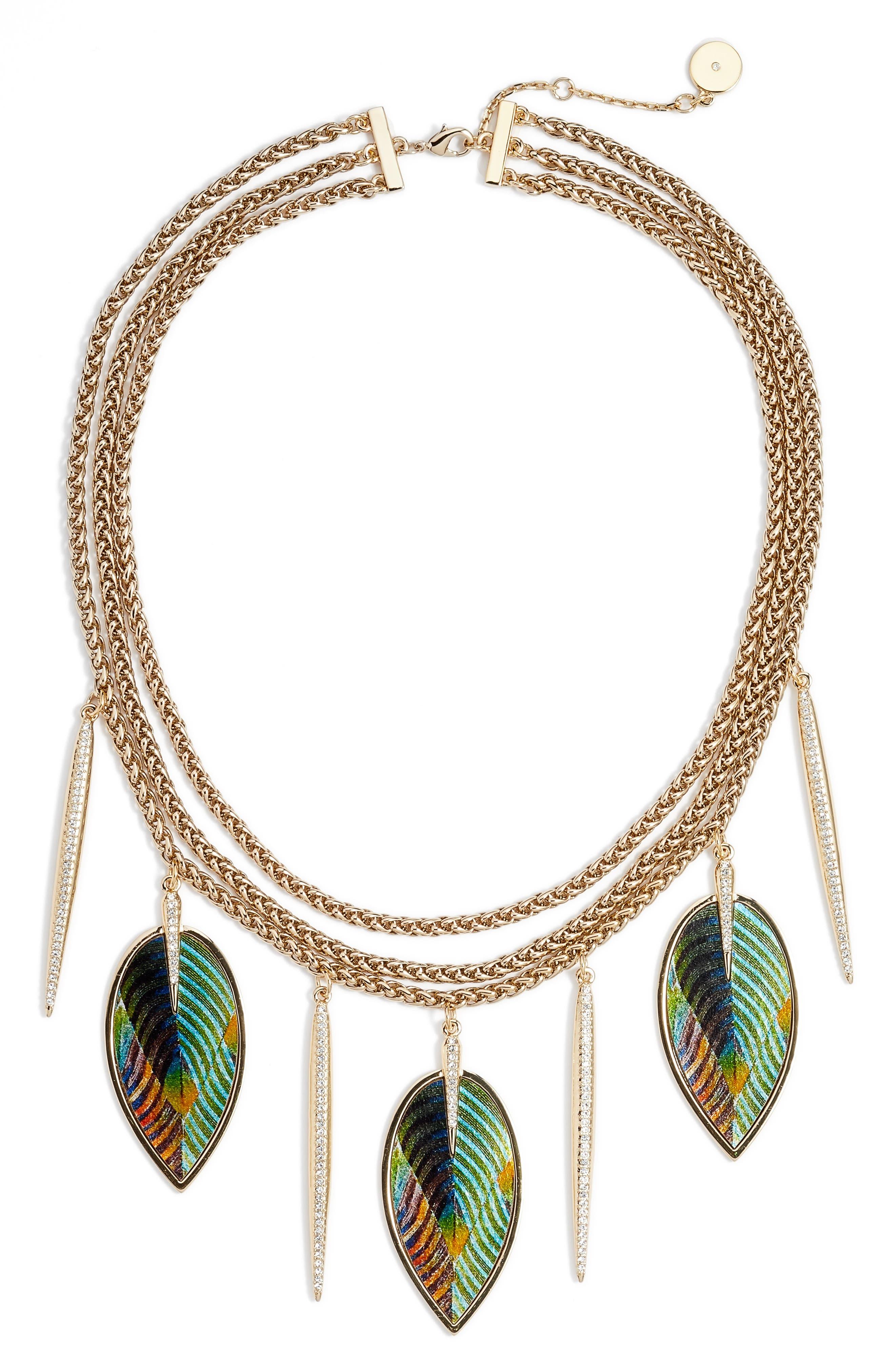 Statement Necklace,                         Main,                         color, 710