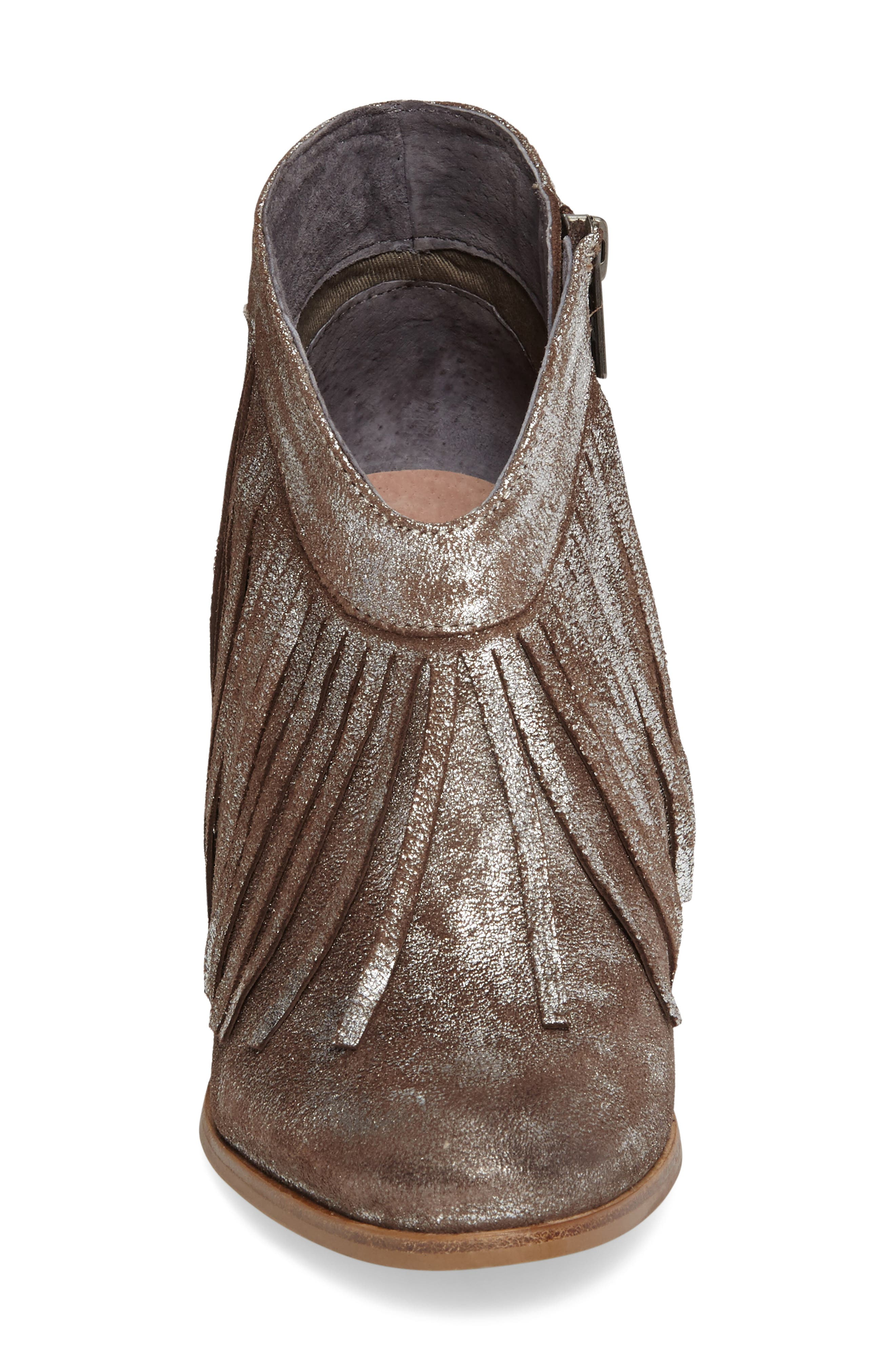 Unbridled Layla Fringed Bootie,                             Alternate thumbnail 3, color,                             040