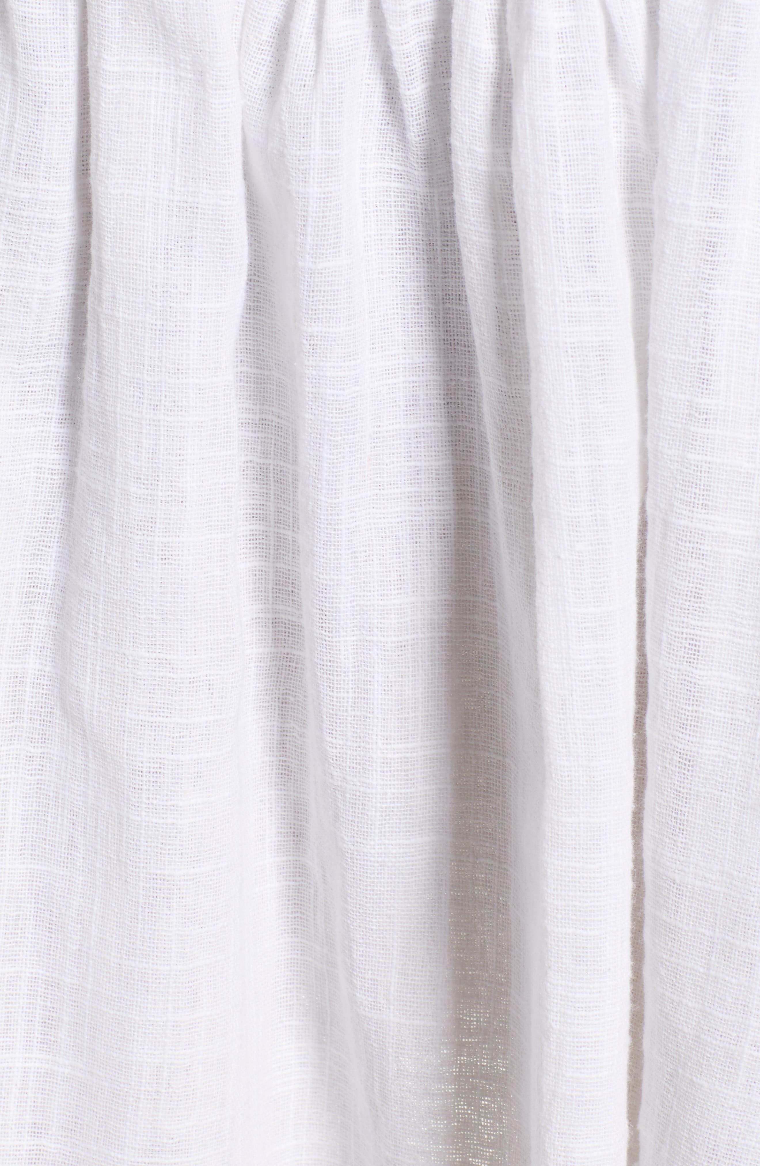 Lucid Dreaming Strapless Minidress,                             Alternate thumbnail 6, color,