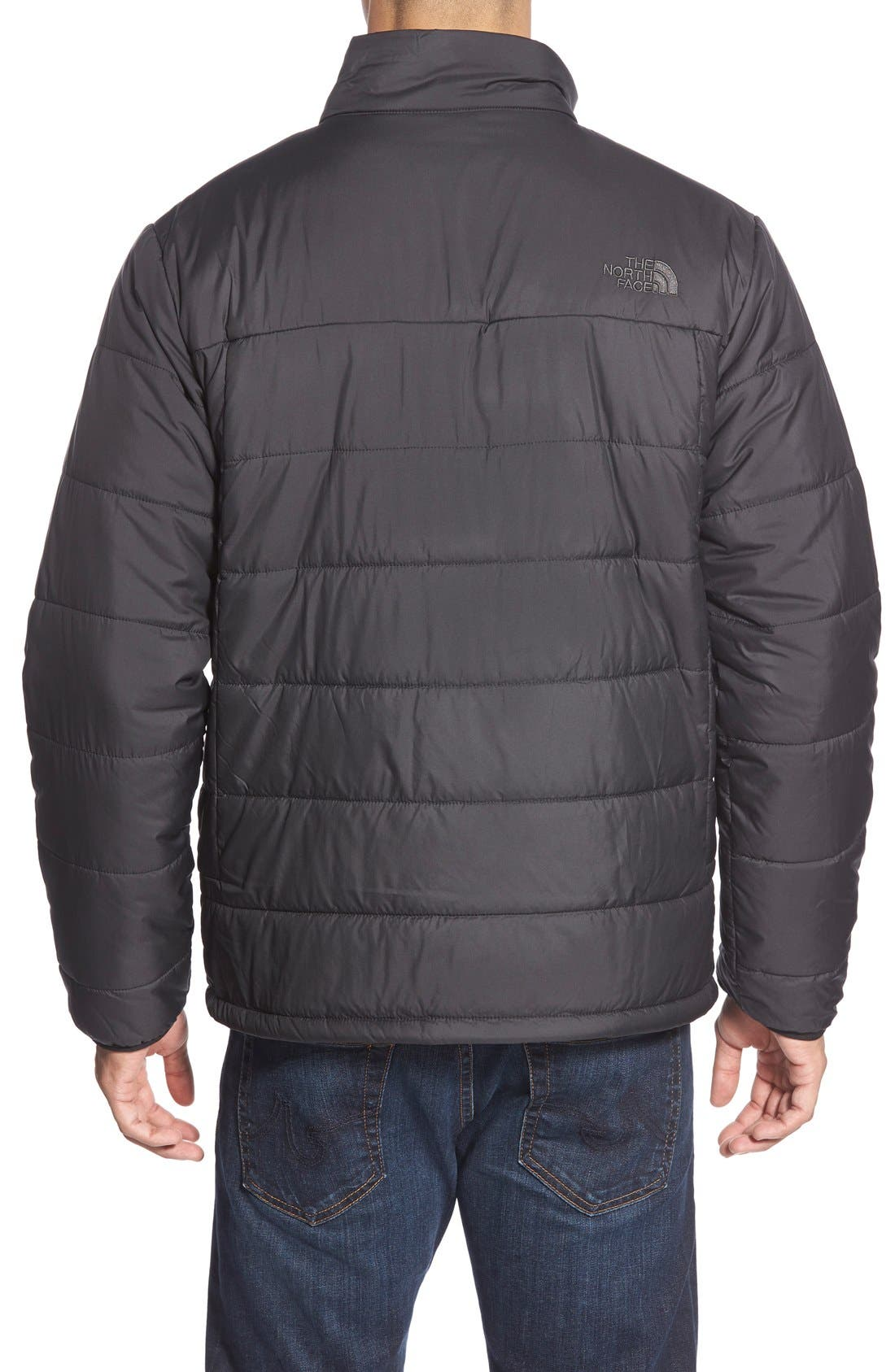 'Bombay' Quilted Jacket,                             Alternate thumbnail 3, color,                             001
