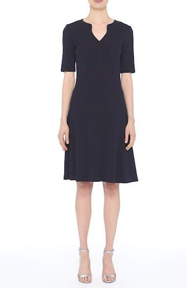 Milano Knit A-Line Dress, video thumbnail