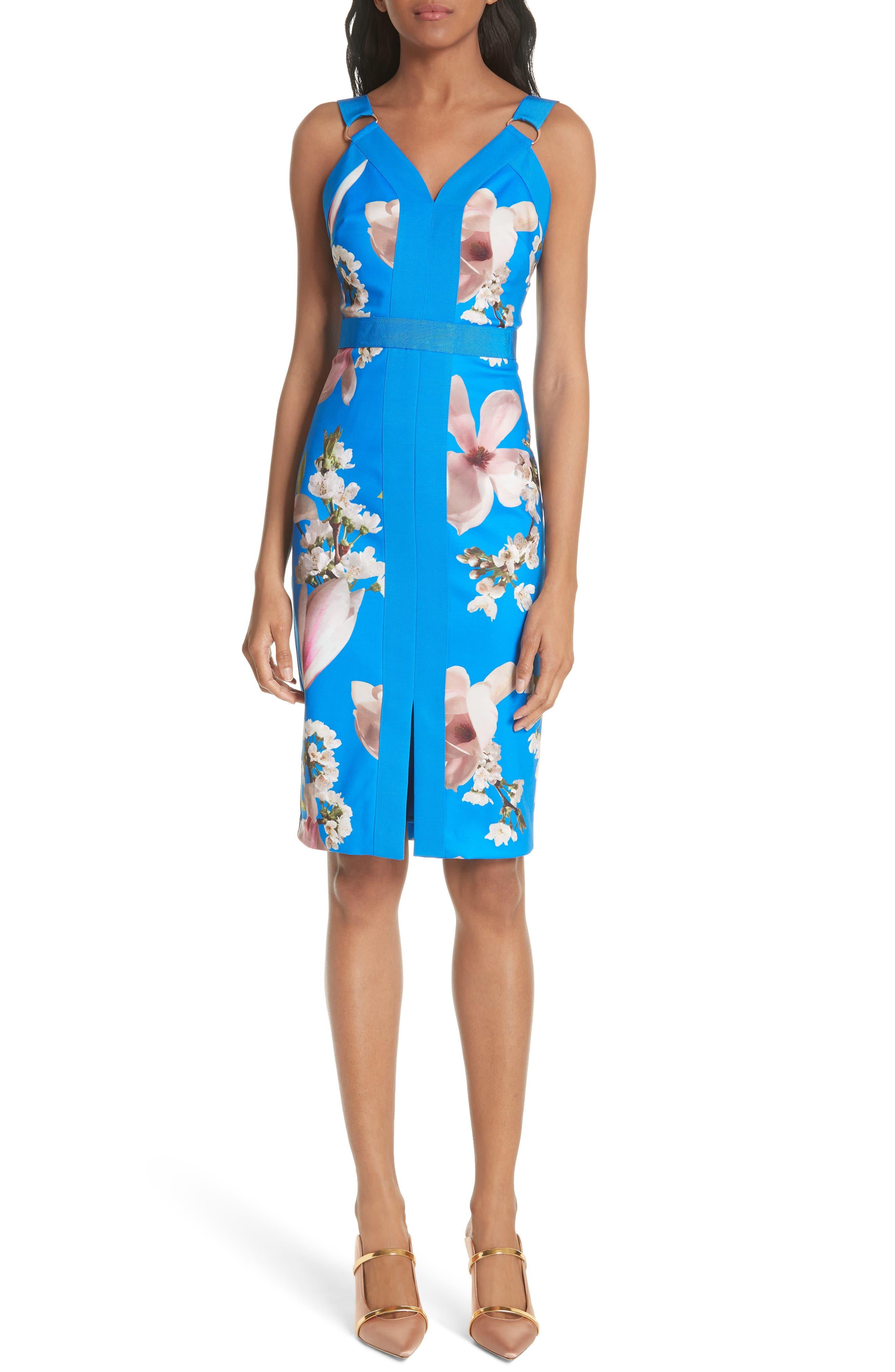 Harmony Body-Con Dress,                             Main thumbnail 1, color,                             430