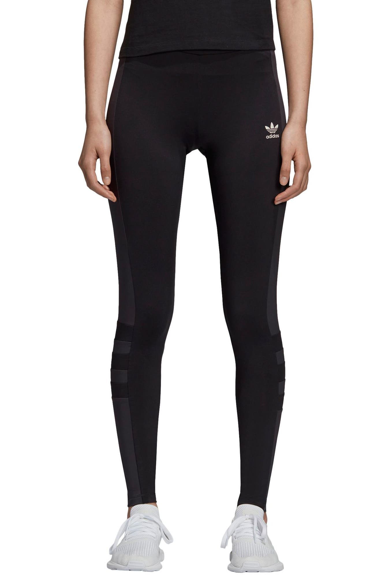 ADIDAS,                             Tights,                             Main thumbnail 1, color,                             002