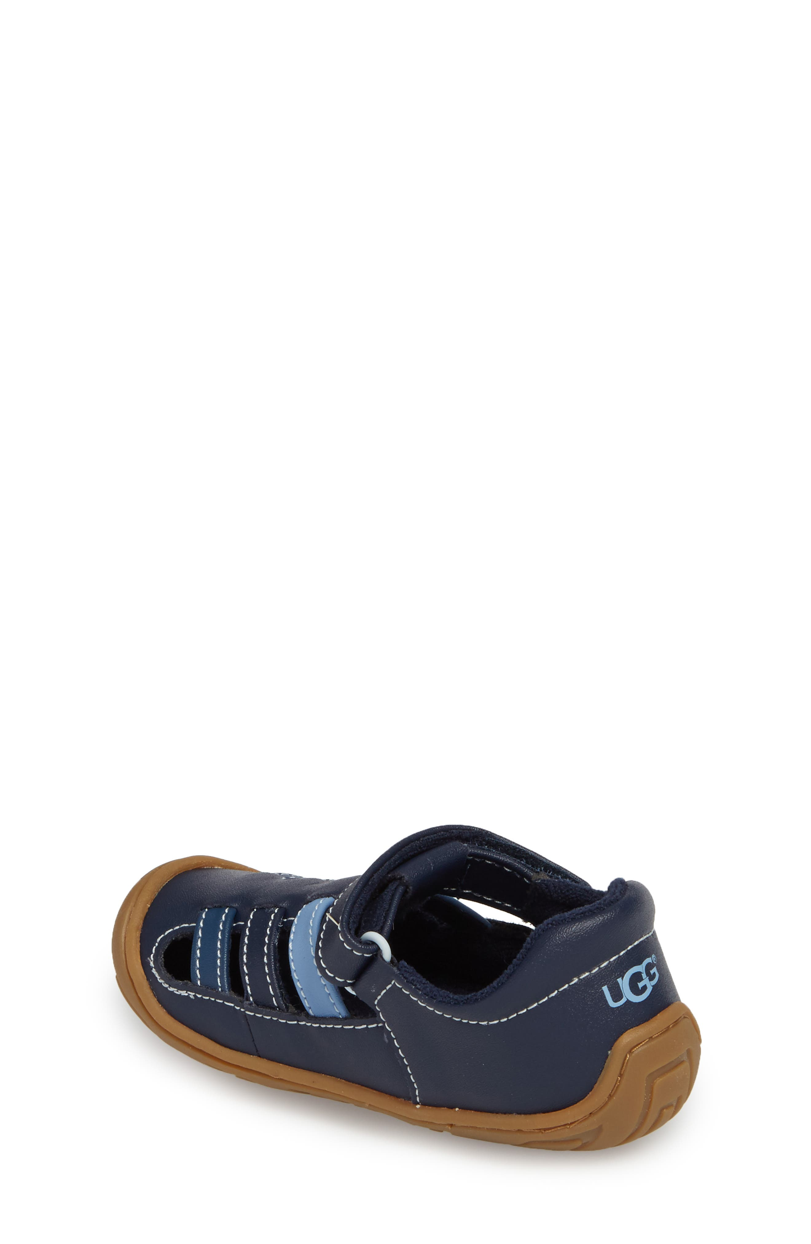 Santore Sandal,                             Alternate thumbnail 2, color,                             NAVY