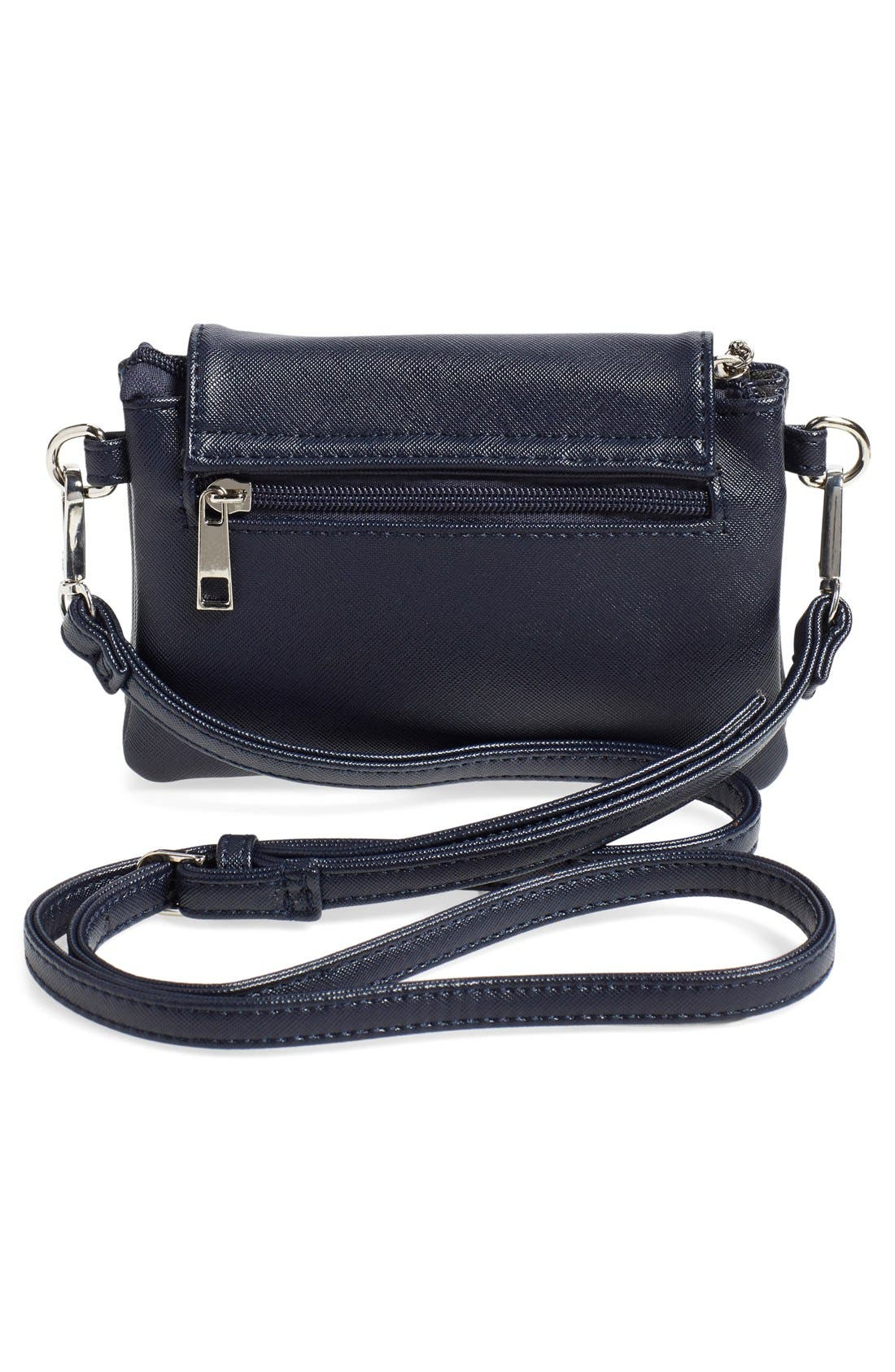 'Mini Clara' Crossbody Bag,                             Alternate thumbnail 6, color,                             020