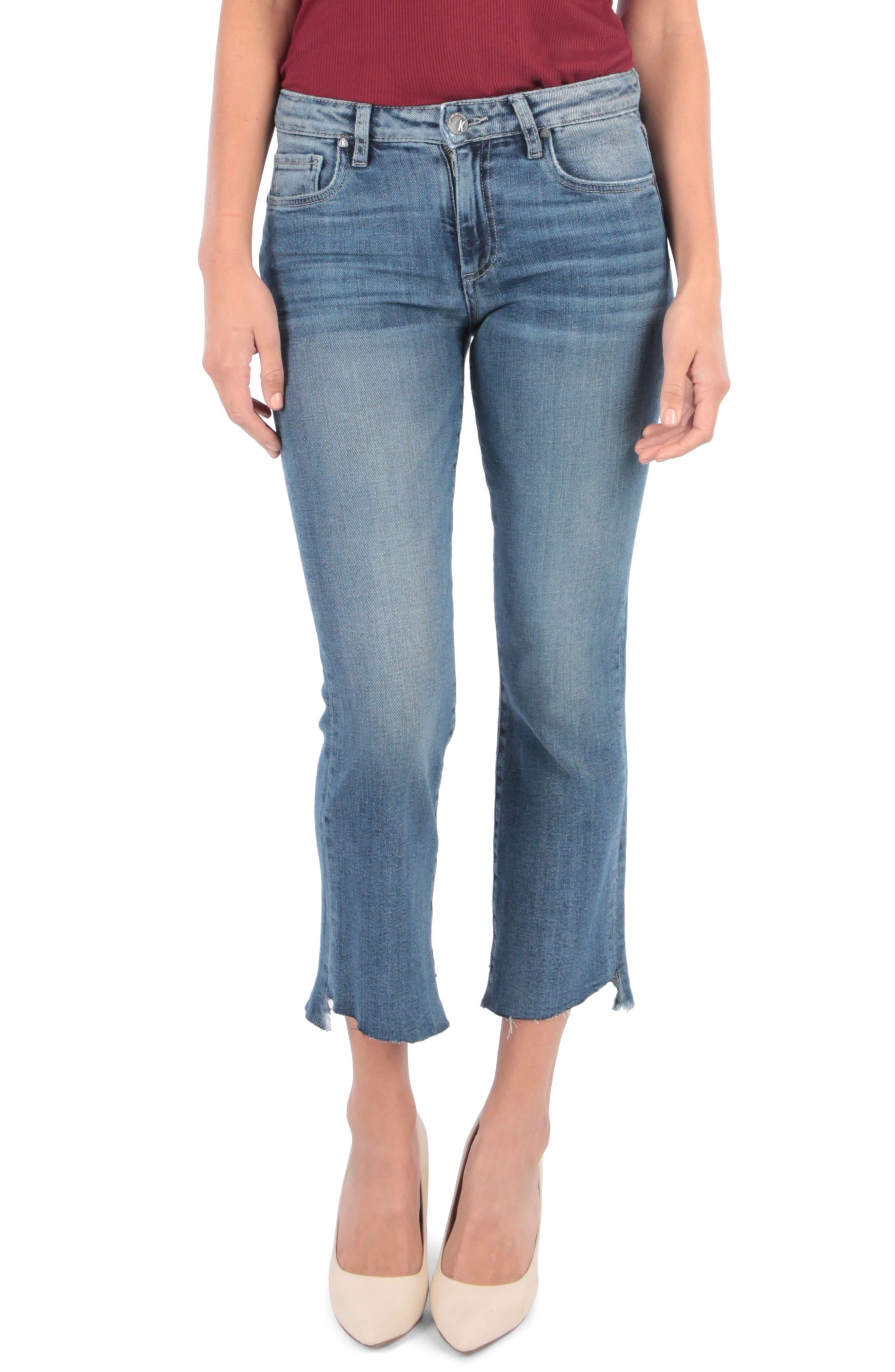 Kut From The Kloth Gloria Kick Flare Jeans, Blue
