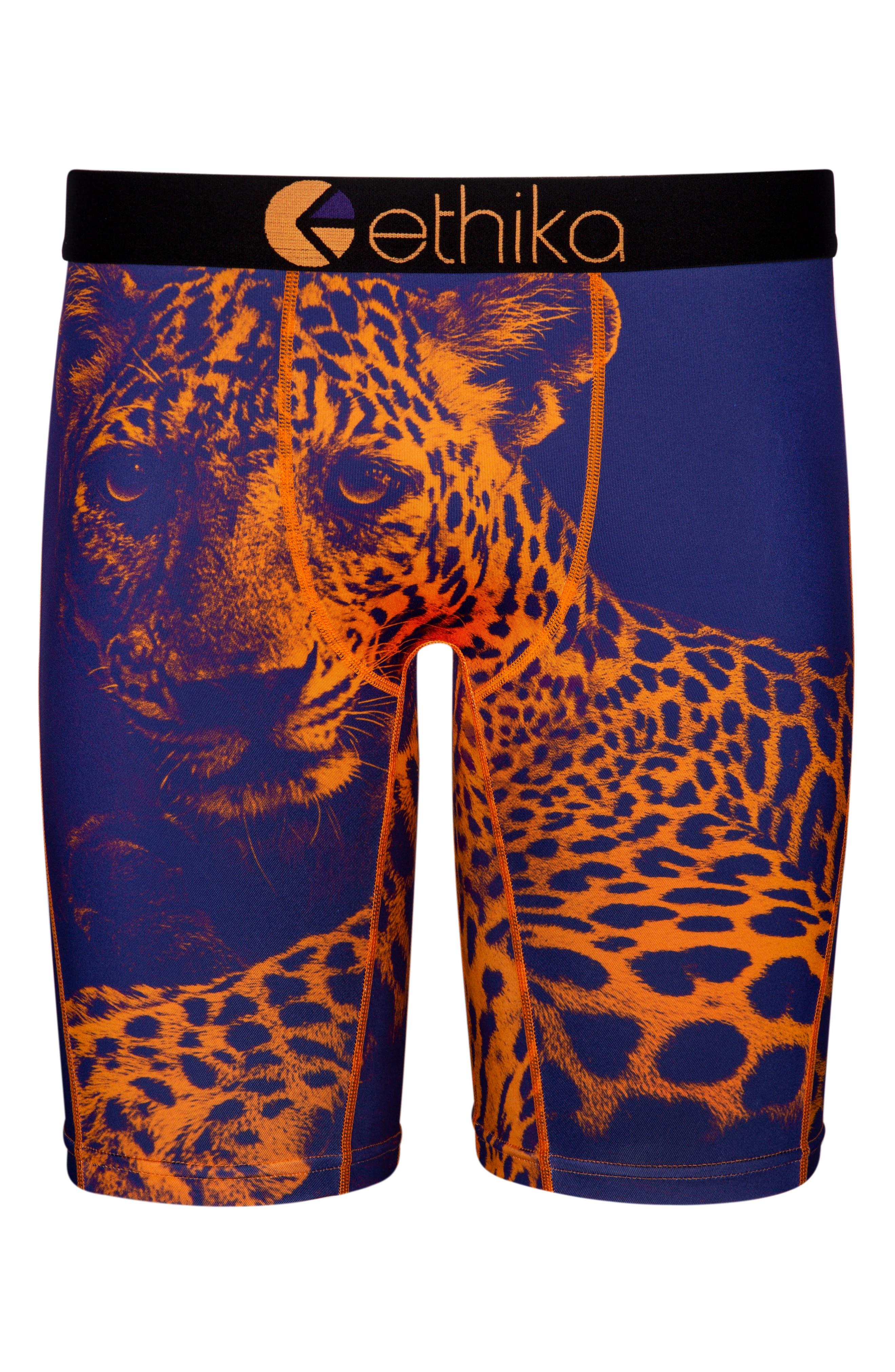 Bronze Leopard Boxer Briefs,                             Main thumbnail 1, color,                             800