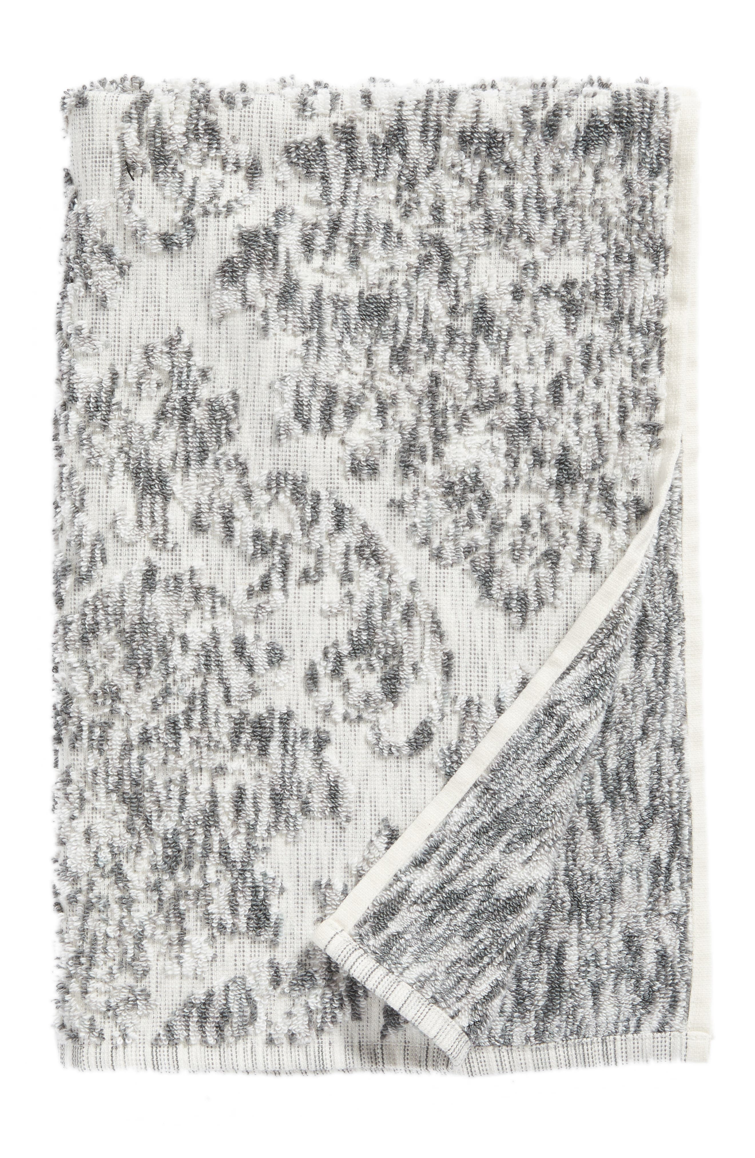 NORDSTROM AT HOME,                             Easton Hand Towel,                             Main thumbnail 1, color,                             GREY FROST MULTI