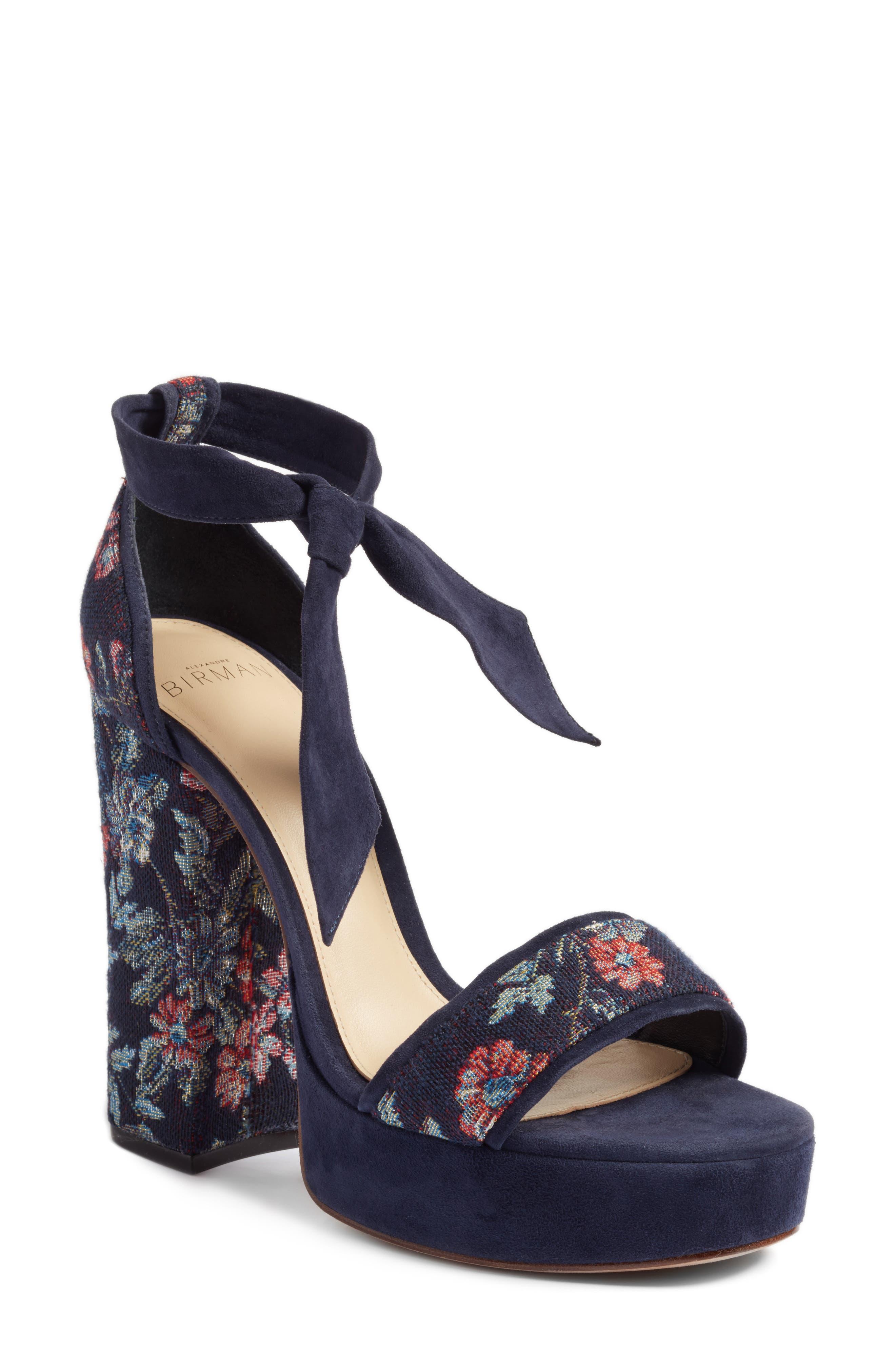 Celine Platform Sandal,                             Main thumbnail 1, color,