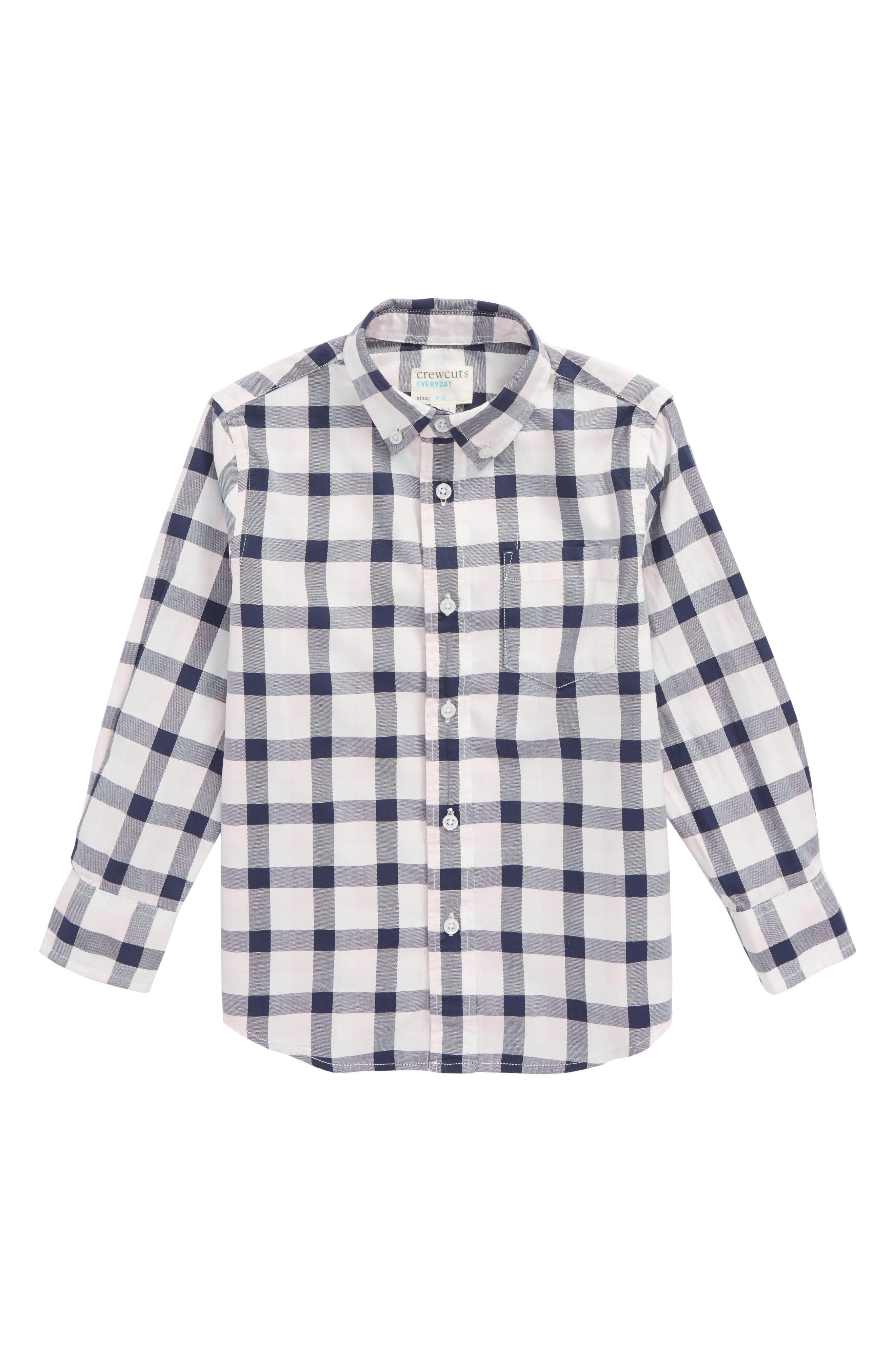 Taxali Check Woven Shirt,                         Main,                         color, 650