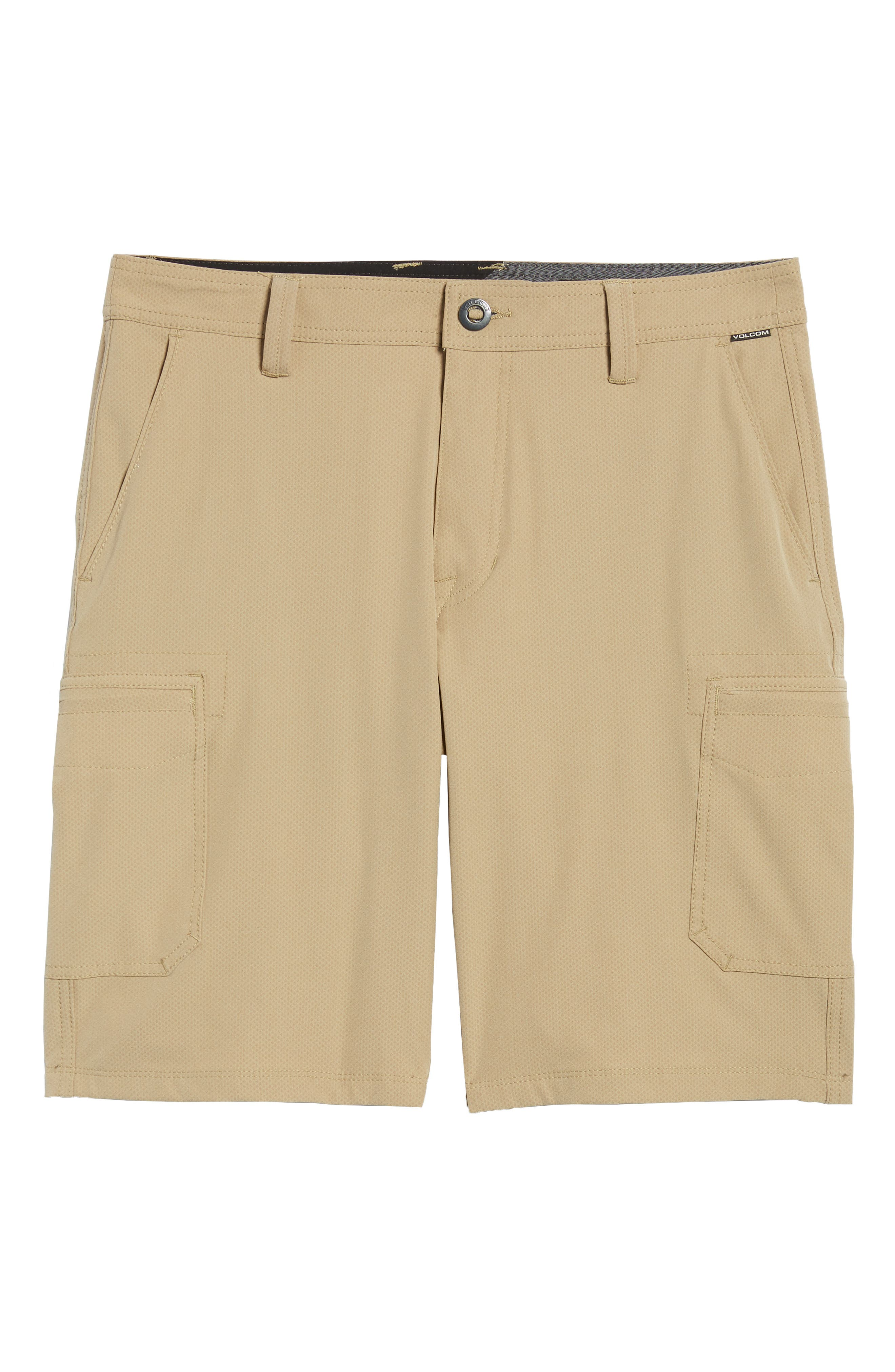 Surf N' Turf Dry Cargo Hybrid Shorts,                             Alternate thumbnail 6, color,                             KHAKI