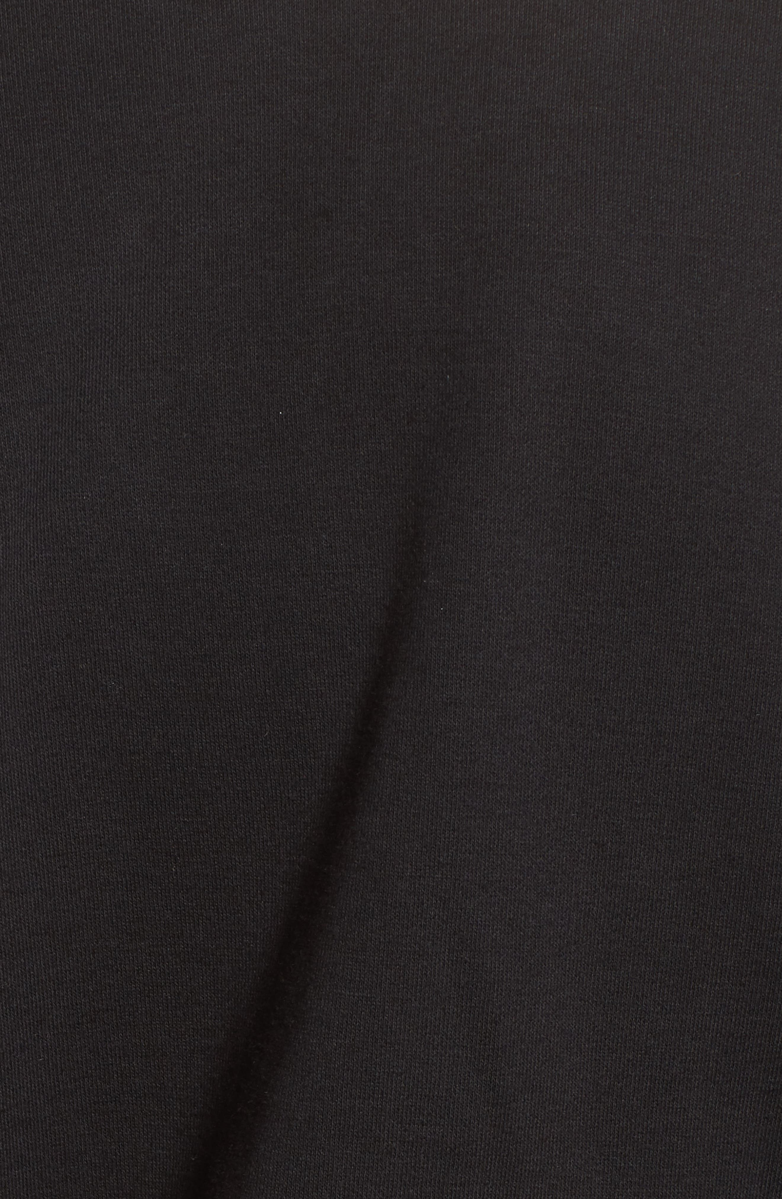 Blouson Sleeve Sweatshirt,                             Alternate thumbnail 5, color,                             001