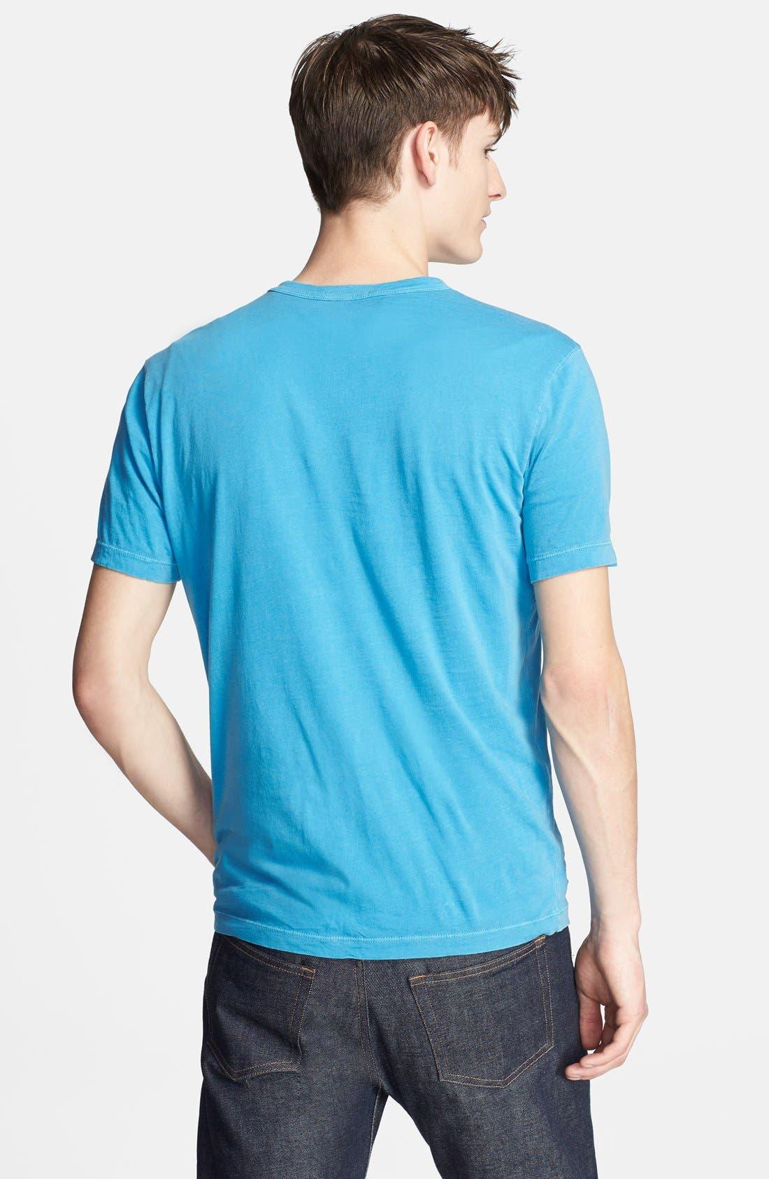 Crewneck Jersey T-Shirt,                             Alternate thumbnail 290, color,