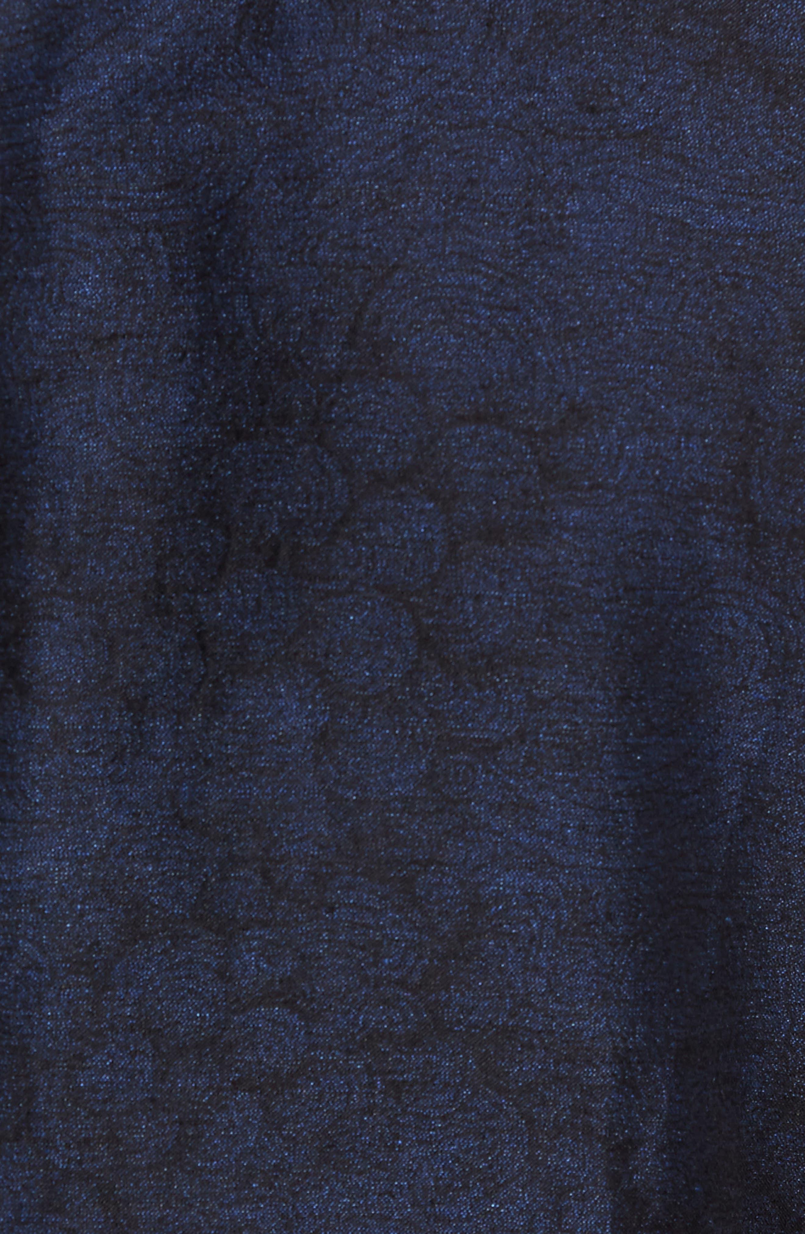 Slim Fit Patterned Linen Blend Sport Coat,                             Alternate thumbnail 6, color,                             401