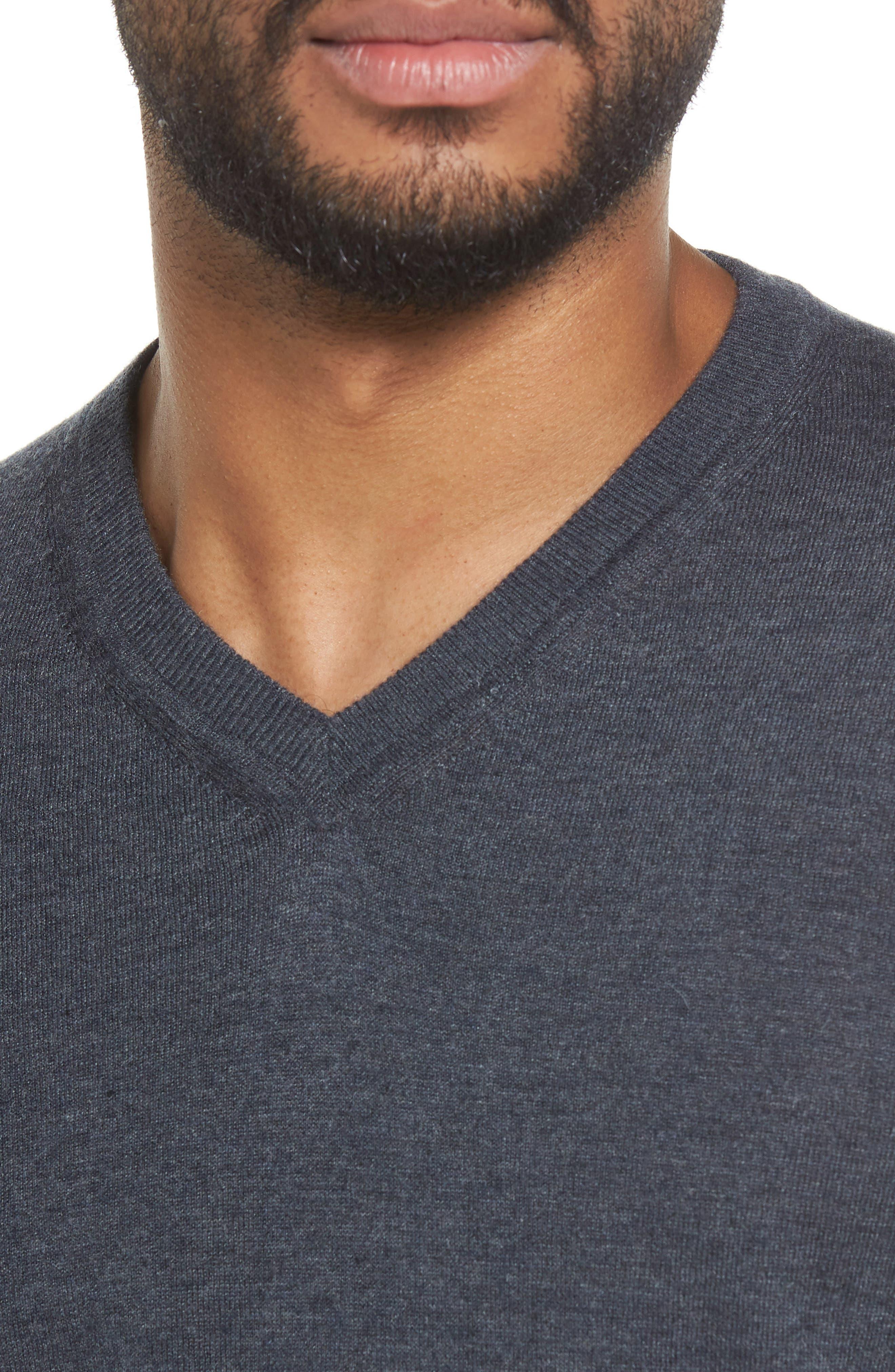 V-Neck Sweater,                             Alternate thumbnail 14, color,