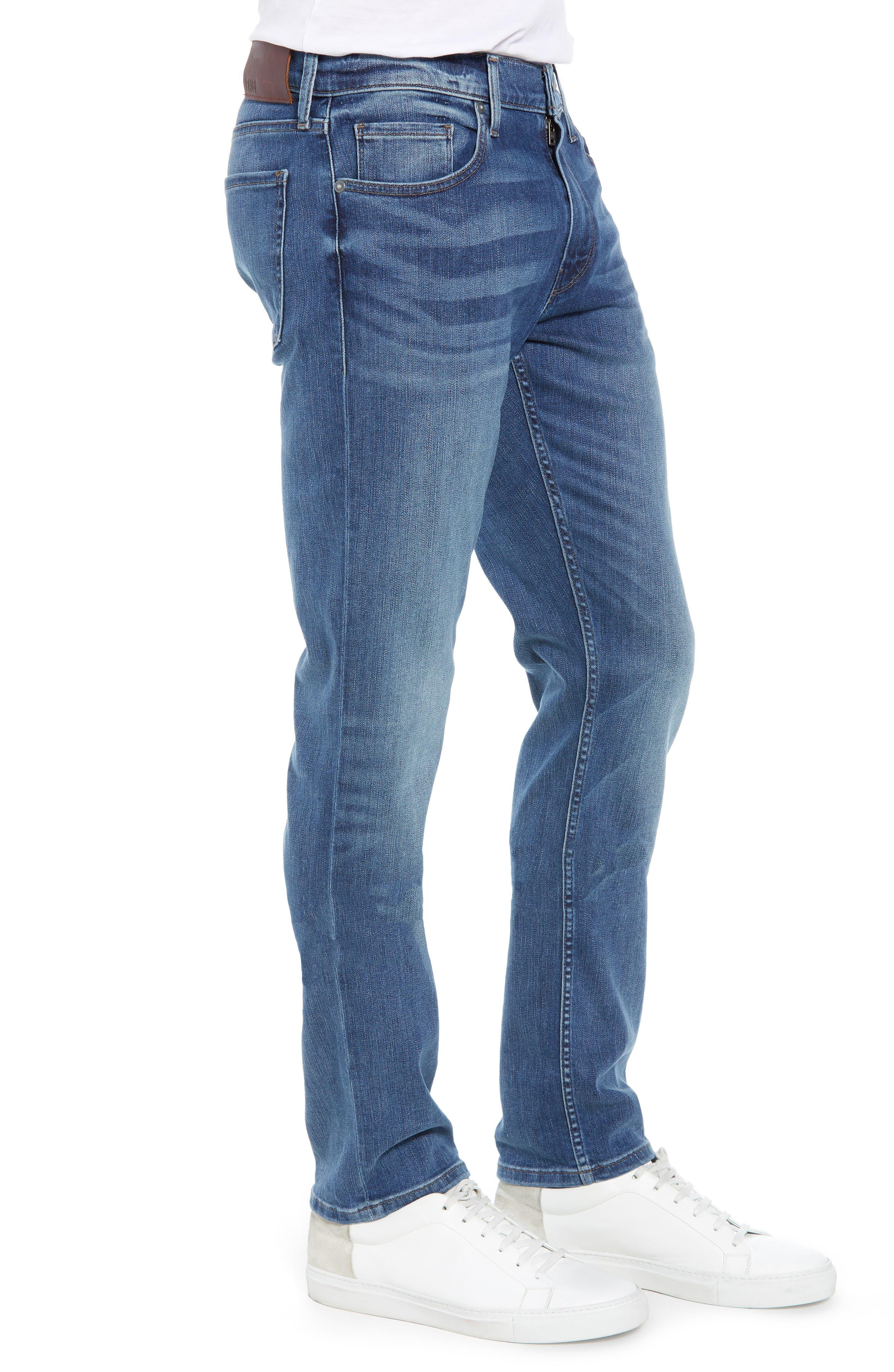 Transcend Vintage - Lennox Slim Fit Jeans,                             Alternate thumbnail 3, color,                             400