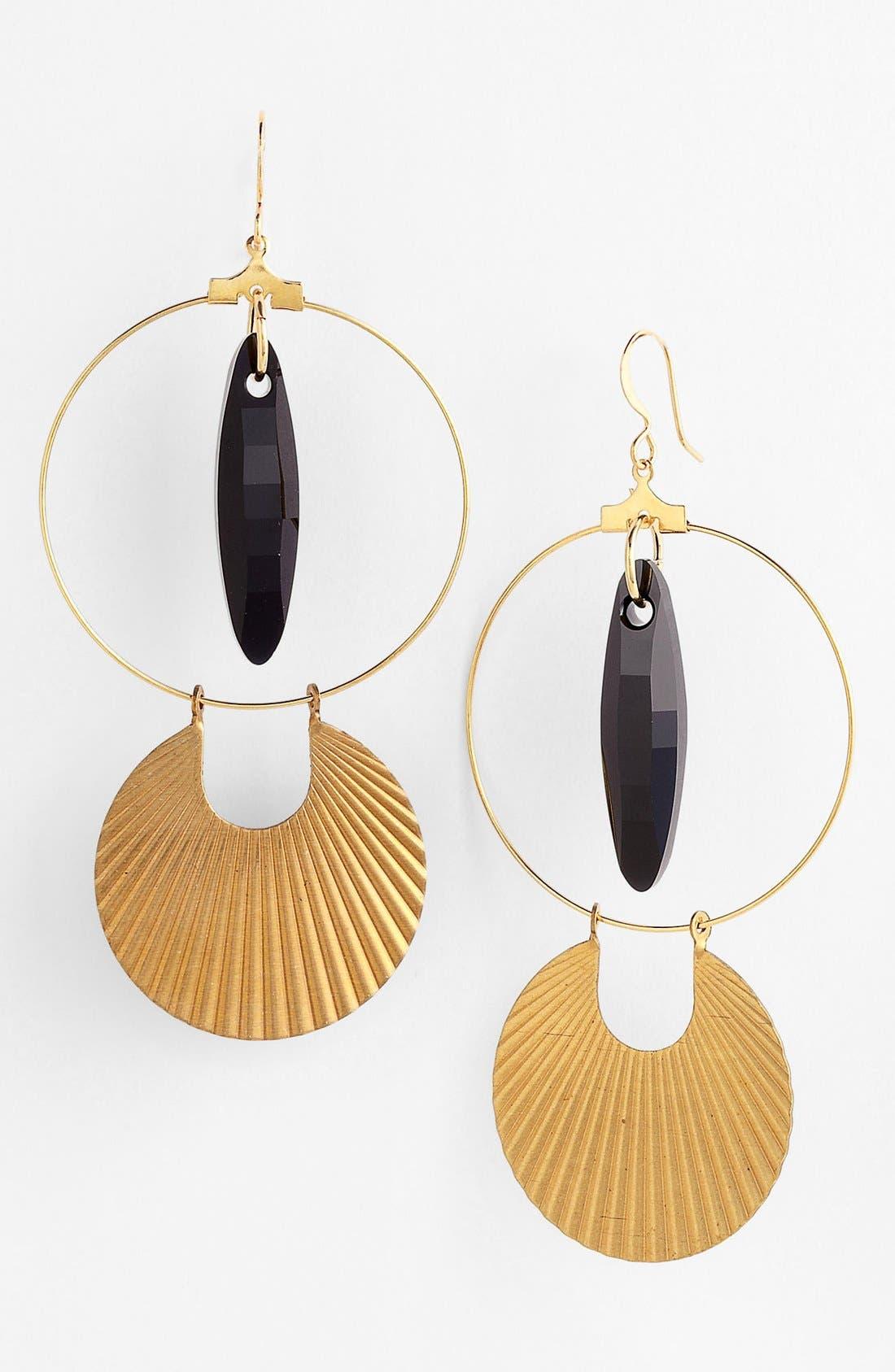 Hoop Earrings, Main, color, 710