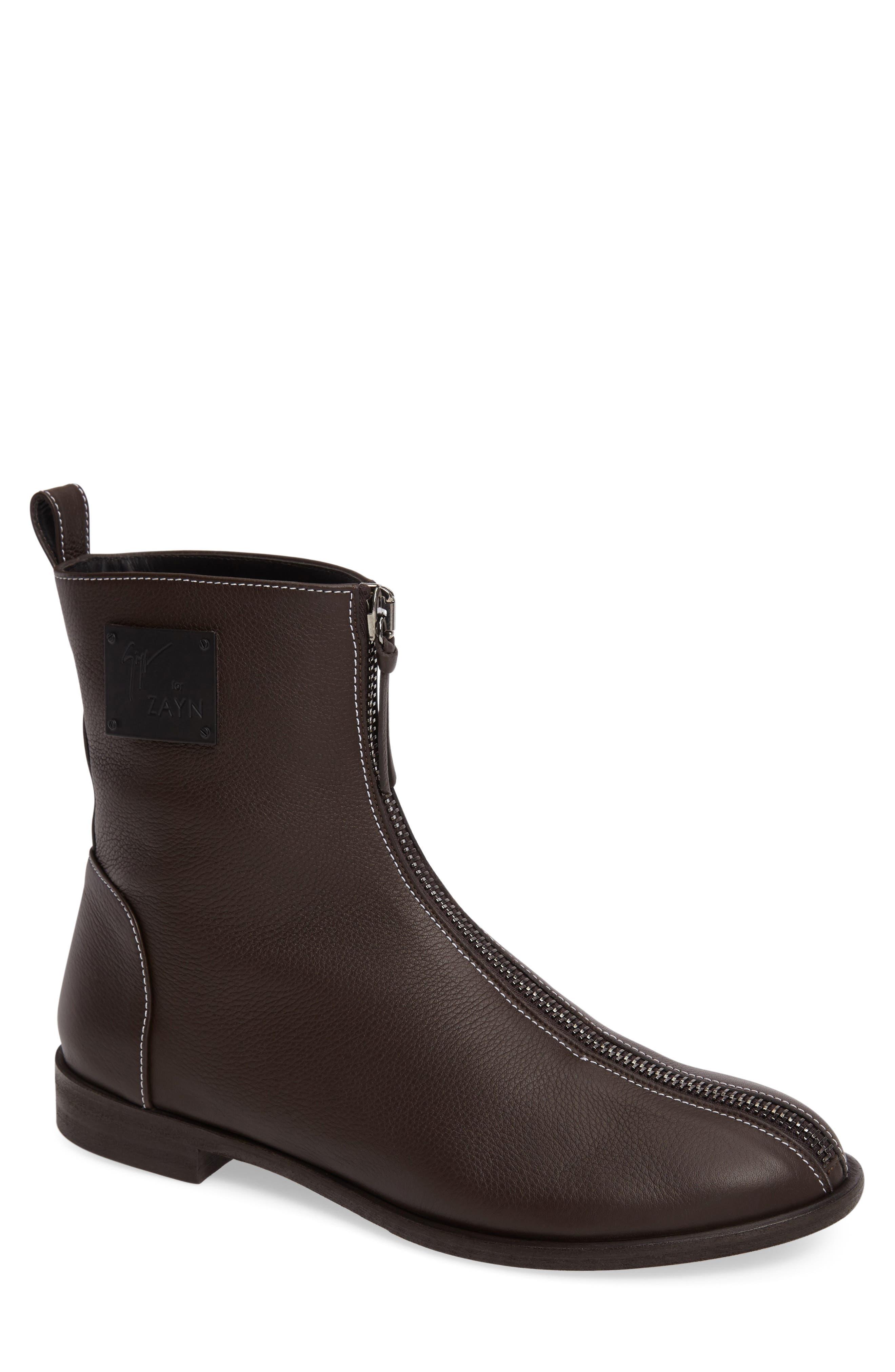 GIUSEPPE ZANOTTI x Zayn Zip Boot, Main, color, 200