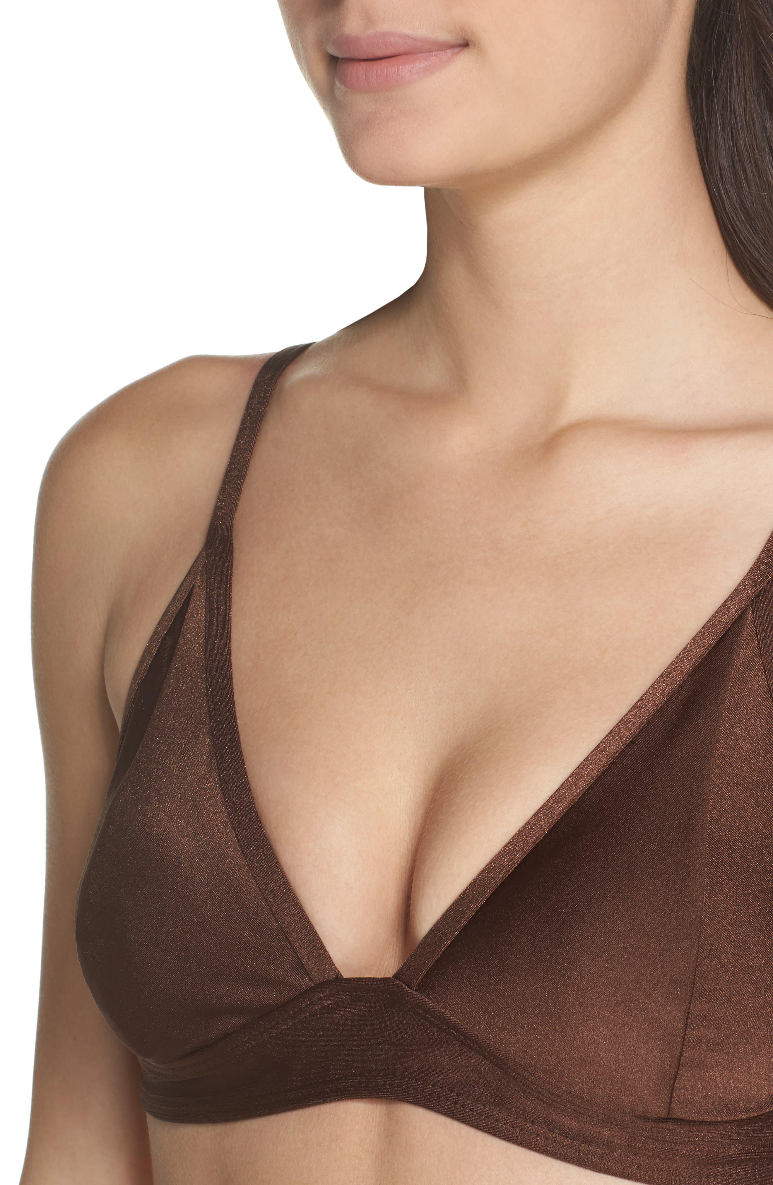 CHROMAT,                             Leyna Bikini Top,                             Alternate thumbnail 4, color,                             200