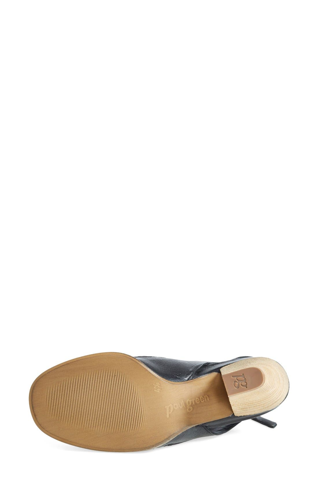 'Cayanne' Leather Peep Toe Sandal,                             Alternate thumbnail 14, color,