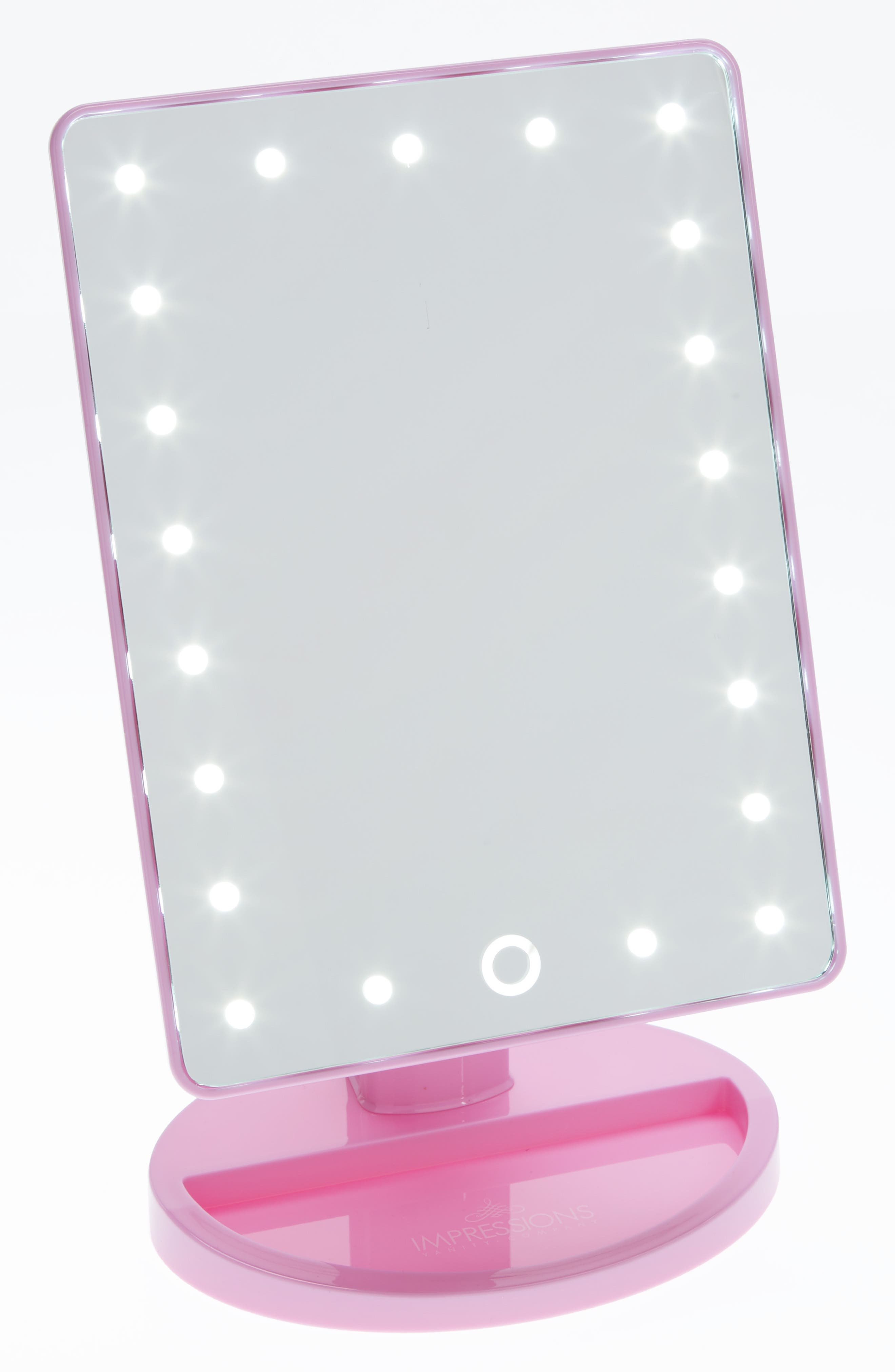 Touch 2.0 LED Vanity Mirror,                             Main thumbnail 1, color,                             651