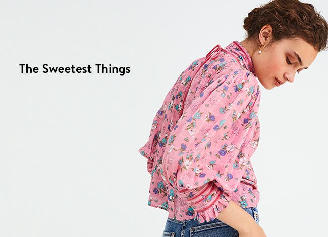 The sweetest things: women's tops.