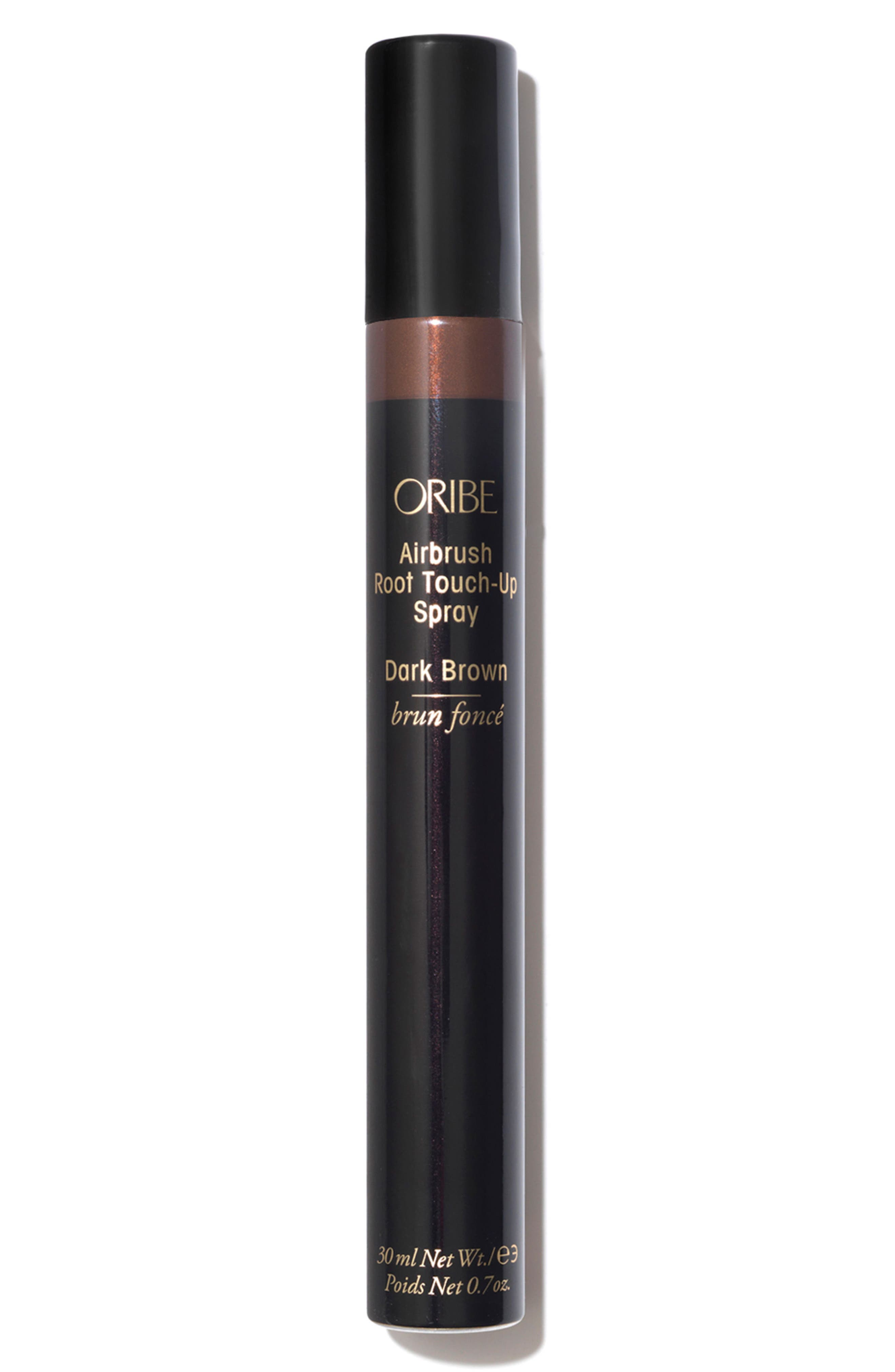 SPACE.NK.apothecary Oribe Airbrush Root Touch-Up Spray,                             Main thumbnail 1, color,                             DARK BROWN