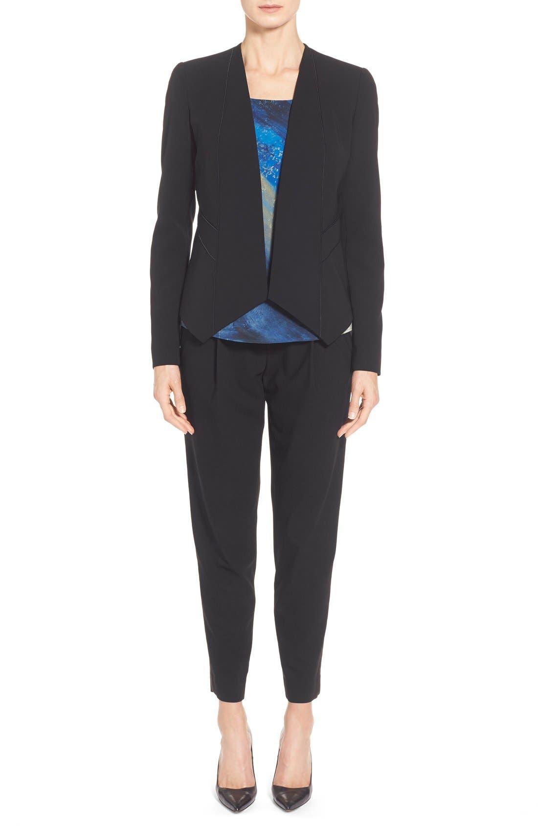 'Sukie' Sleek Tech Cloth Jacket,                             Alternate thumbnail 3, color,                             001