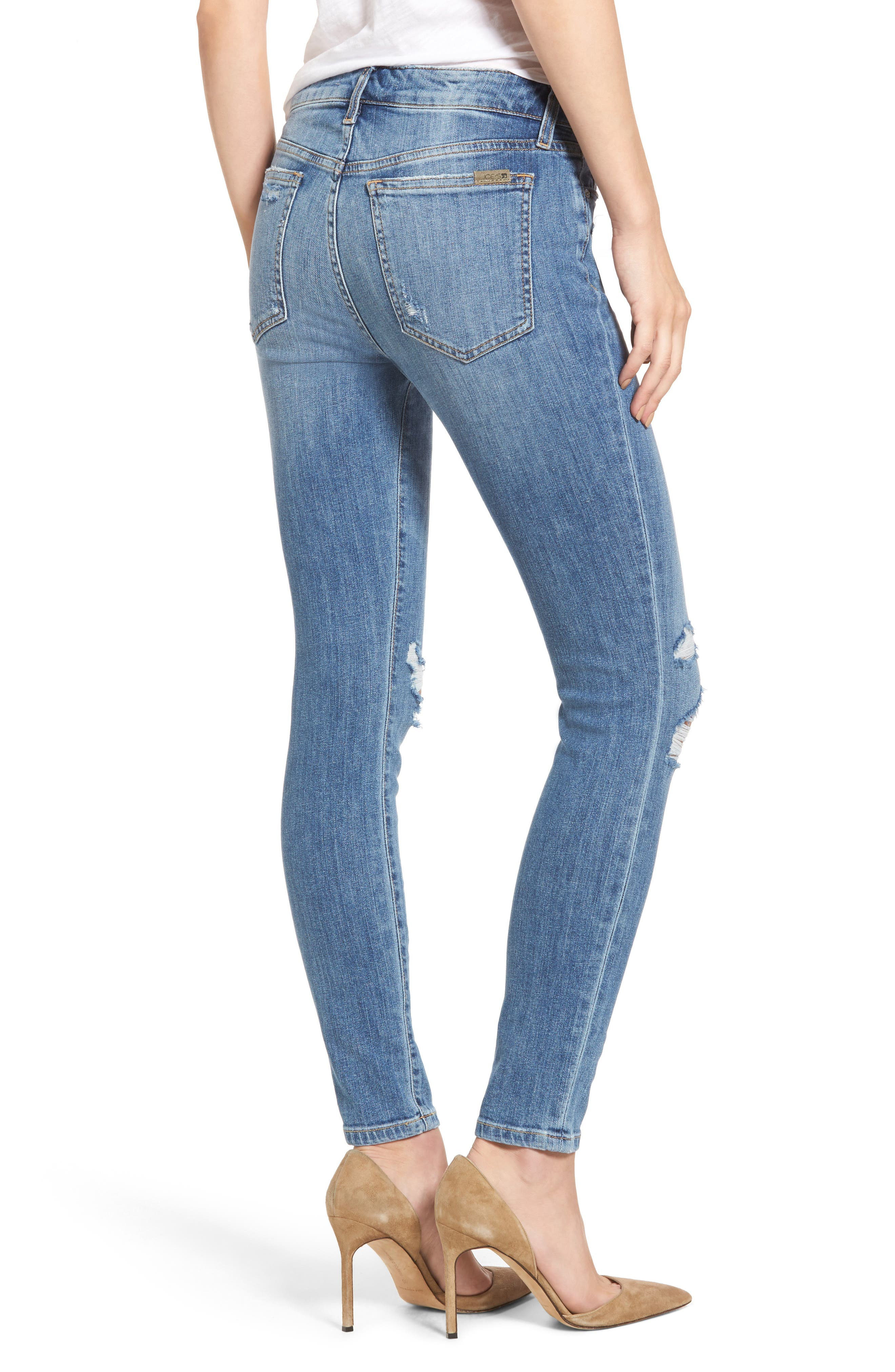 The Icon Skinny Ankle Jeans,                             Alternate thumbnail 2, color,                             412