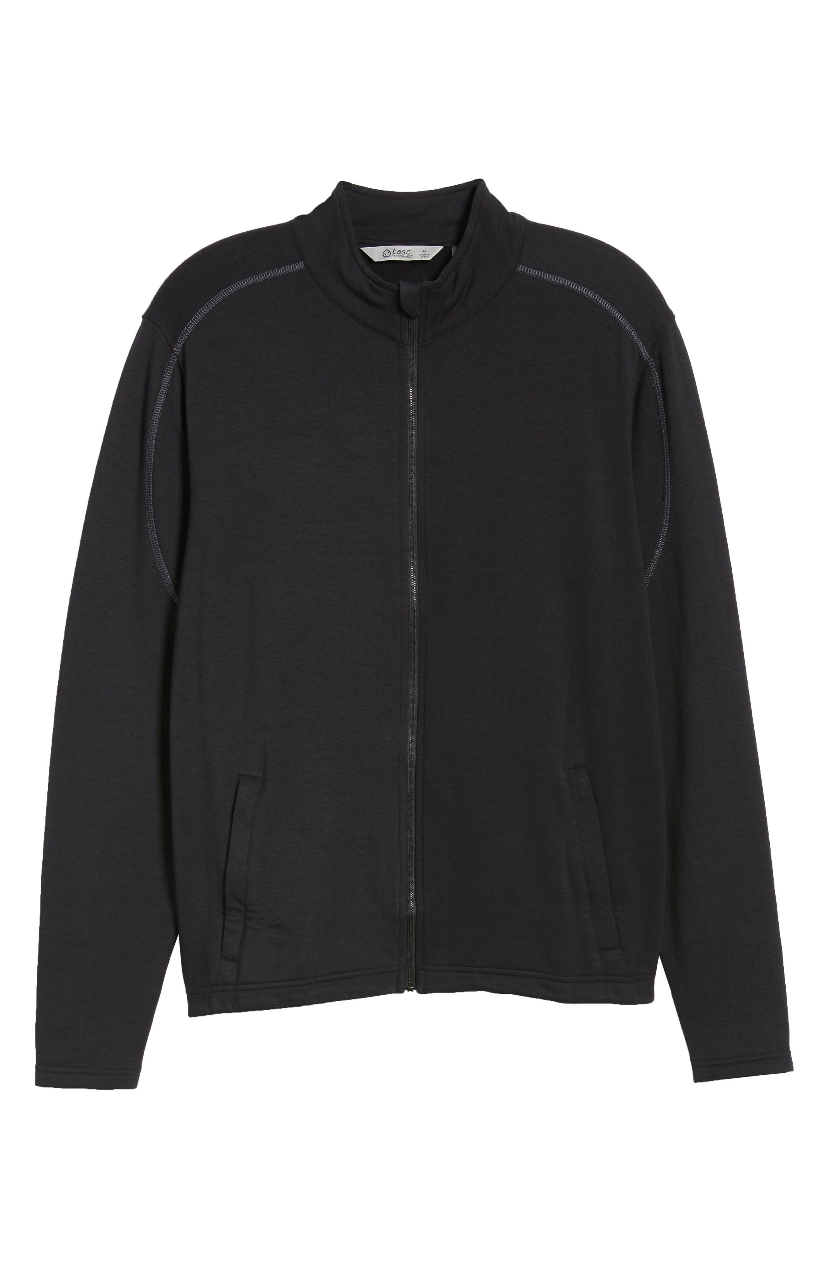 Tahoe II Fleece Jacket,                             Alternate thumbnail 5, color,                             BLACK